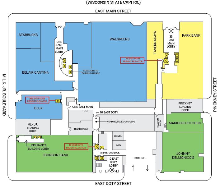 ULI Block 89 Service Core Map