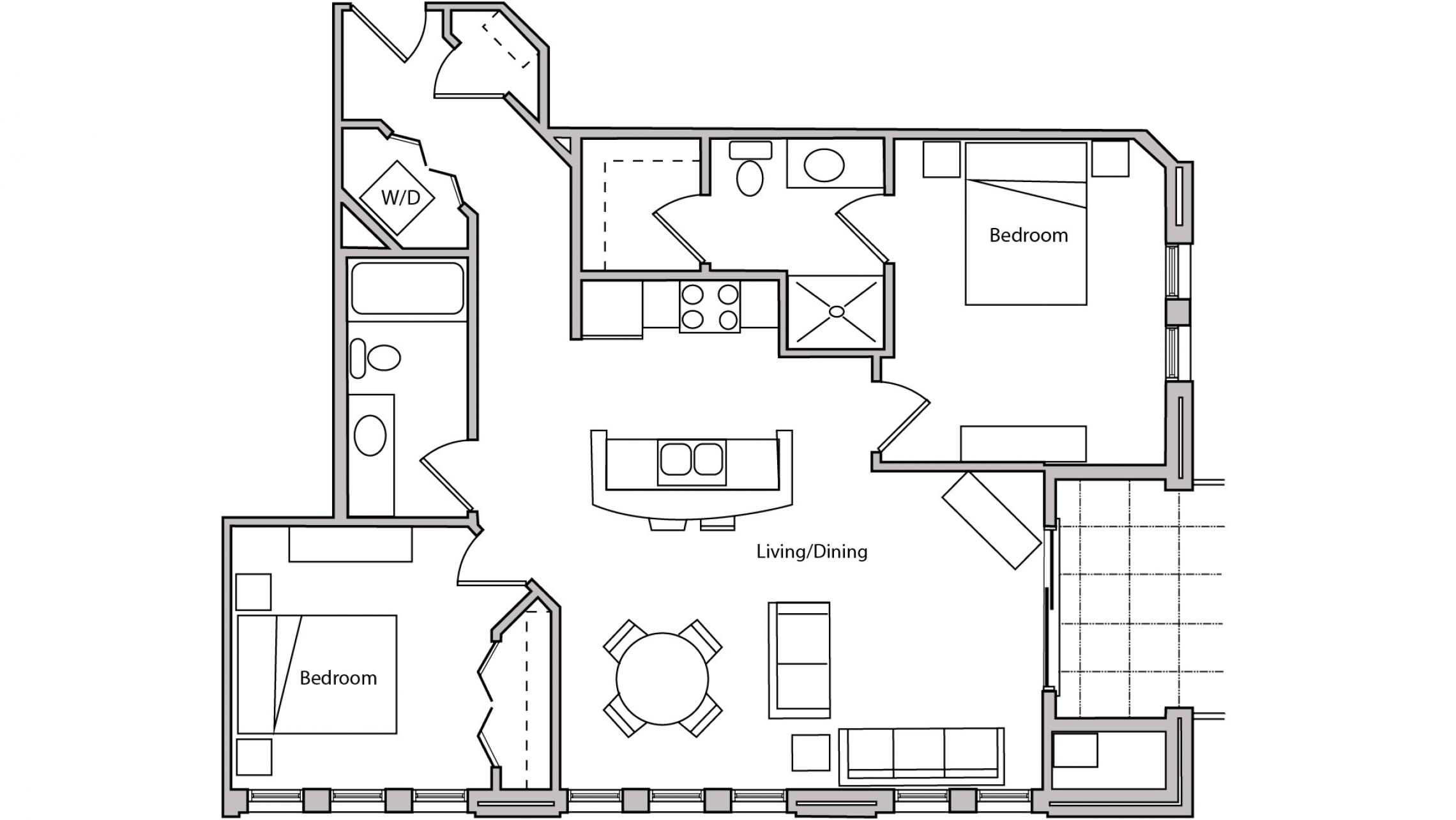 ULI The Depot 1-204 - Two Bedroom, Two Bathroom