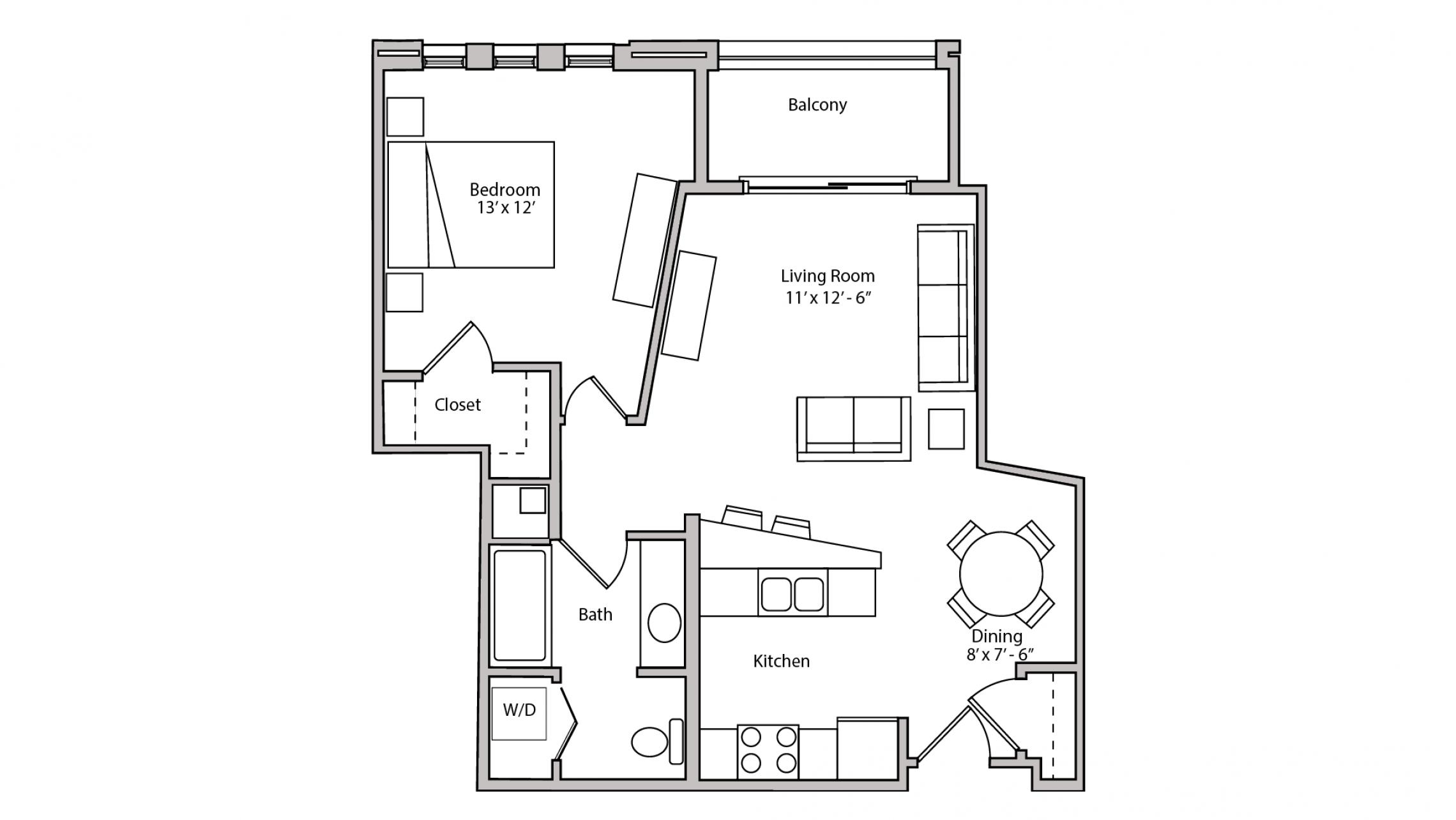 ULI The Depot 1-209 - One Bedroom, One Bathroom