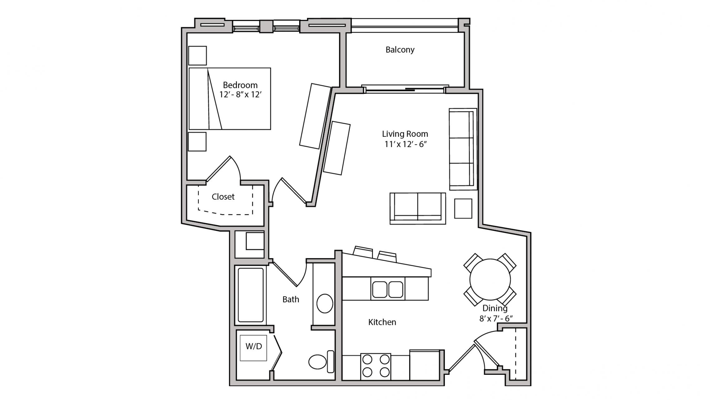 ULI The Depot 1-213 - One Bedroom, One Bathroom