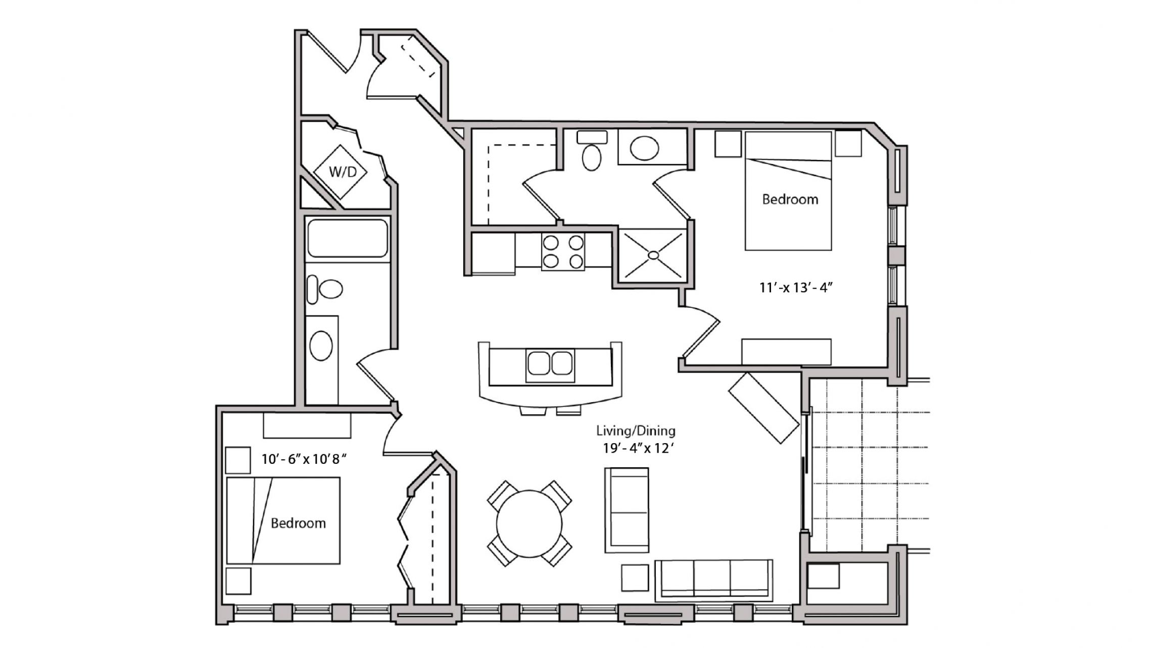 ULI The Depot 1-504 - Two Bedroom, Two Bathroom