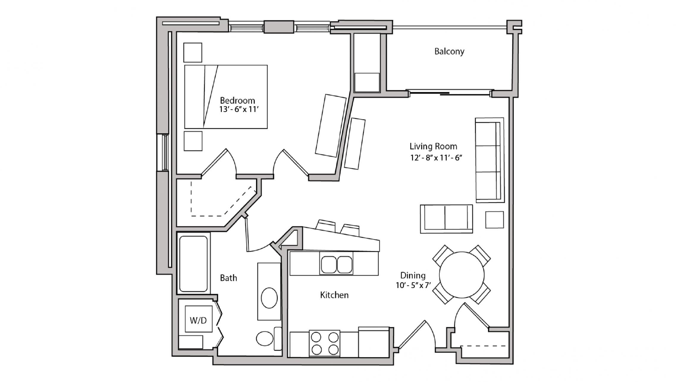 ULI The Depot 2-303 - One Bedroom, One Bathroom