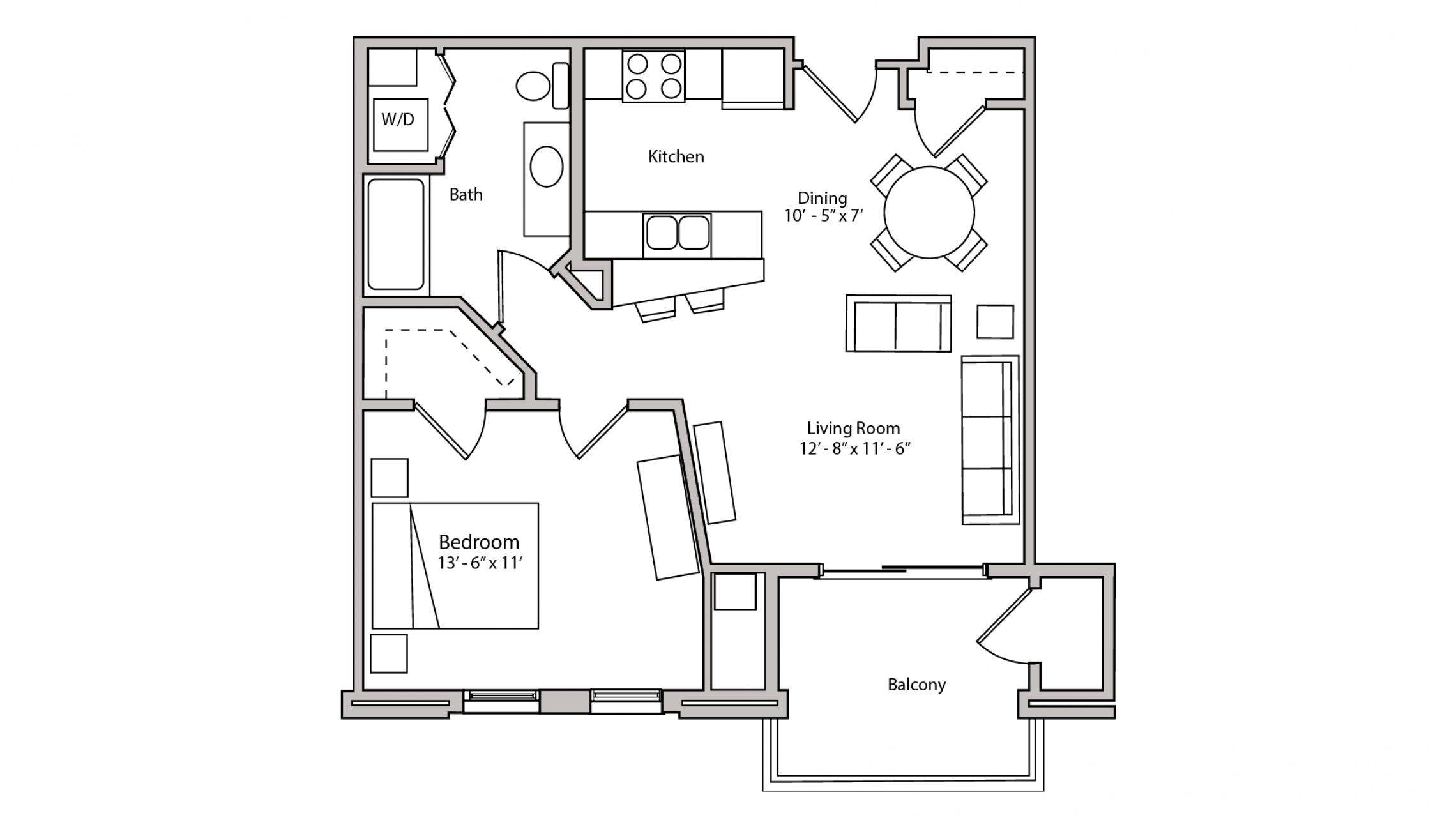ULI The Depot 2-306 - One Bedroom, One Bathroom
