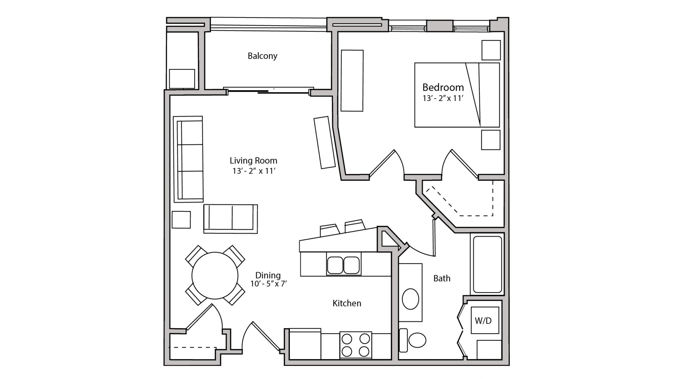 ULI The Depot 2-307 - One Bedroom, One Bathroom