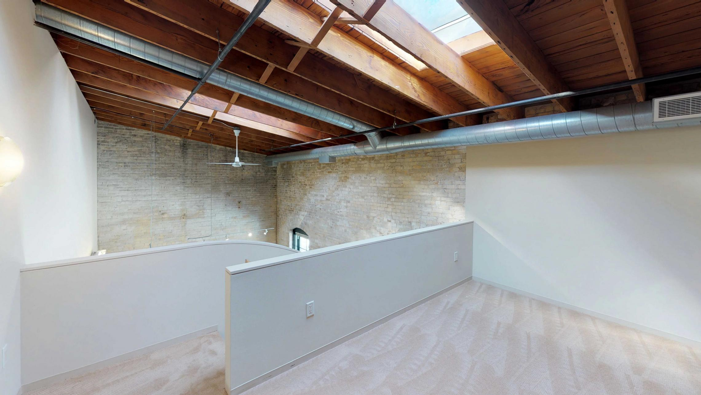 E307-Madison-Downtown-Lofted-Two-Bedroom-Vaulted-Ceiling-Exposures-Luxury-Skylight-Tobacco-Lofts