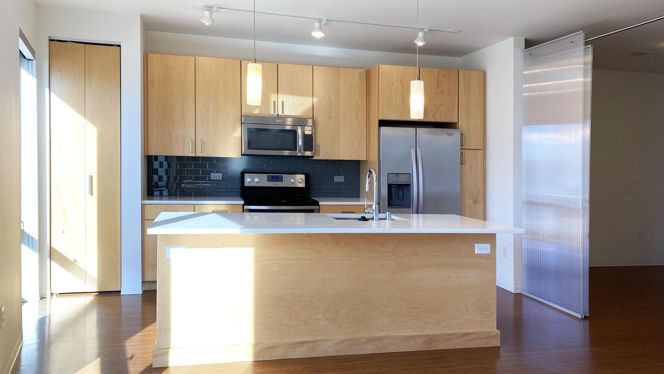SEVEN27-at-The-Yards-Apartment-204-One-Bedroom-Modern-Upscale-Luxury-Design-Radiant-Heating-Fitness-Lounge-Fireplace-Courtyard-Downtown-Madison-Cats-Dogs-Lifestyle-Natural-Light-Lake-View