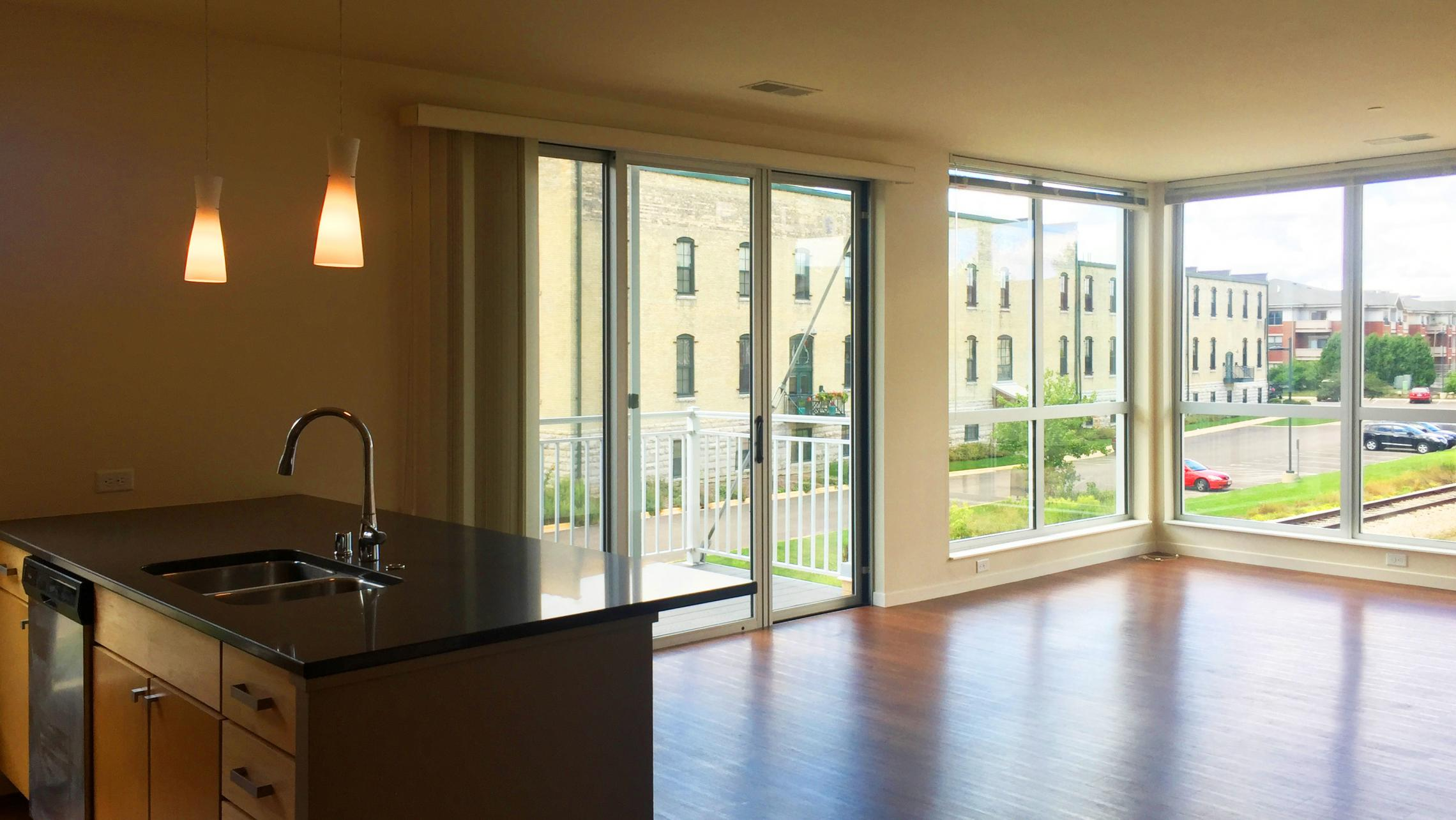 Nine-Line-at-The-Yards-Two-Bedroom-Apartment-214-Corner-Windows-Views-Stunning-Downtown-Madison-Bike-Path-Capitol-Lake-Modern-Upscale-Fitness-Gym-Dogs-Cats
