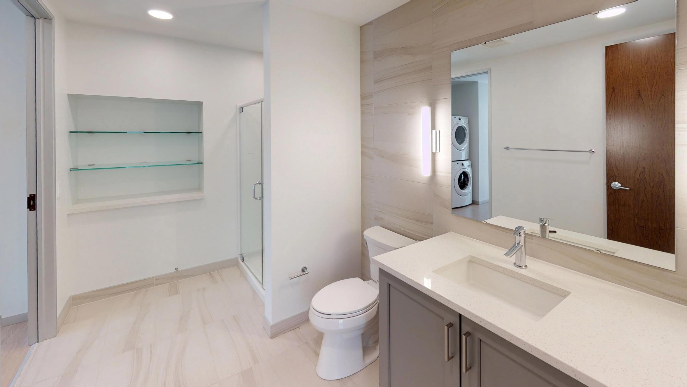 Pressman-311-Apartment-One-Bedroom-Luxury-Modern-Upscale-Downtown-Capitol-Concrete-Madison-Kitchen-Island-Living-Room-Sunny-Bright.jpg