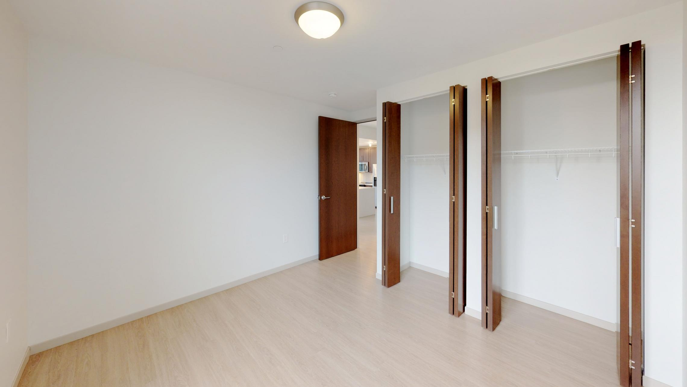 Pressman-601-Apartment-Two-Bedroom-Downtown-Madison-Upscale-Luxury-Modern-Corner-Balcony-Capitol-Lake-View-Closet