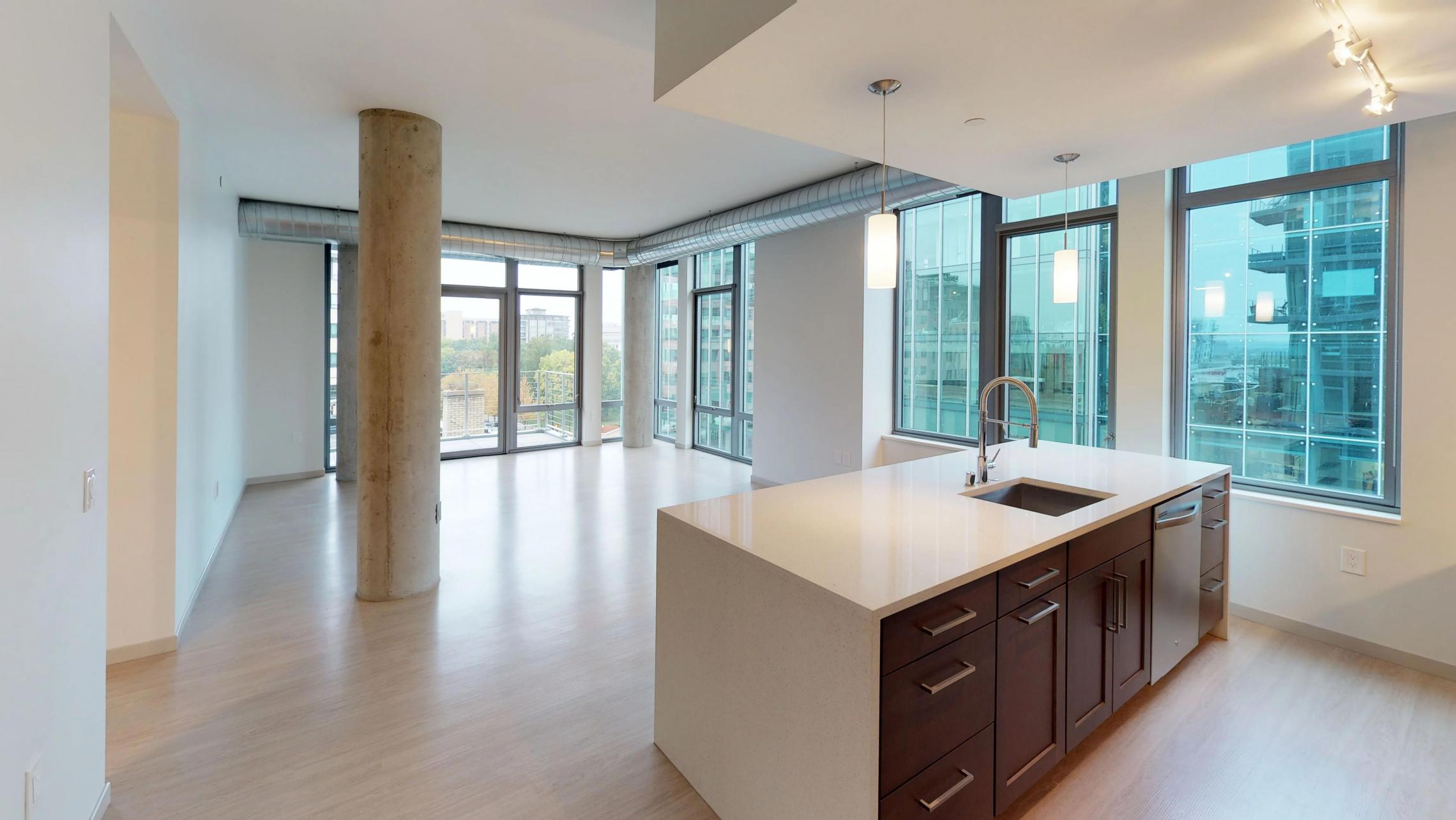 Pressman-601-Apartment-Two-Bedroom-Downtown-Madison-Upscale-Luxury-Modern-Corner-Balcony-Capitol-Lake-View