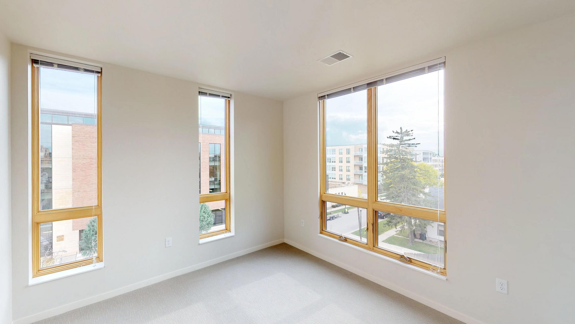 Quarter-Row-Apartments-Downtown-Madison-Capitol-Lake-Views-Balcony-Sun-Terrace-Courtyard-Fireplace-Dogs-Cats-Modern-Upscale-Apartment-401-Three-Bedroom-Two-Bathroom