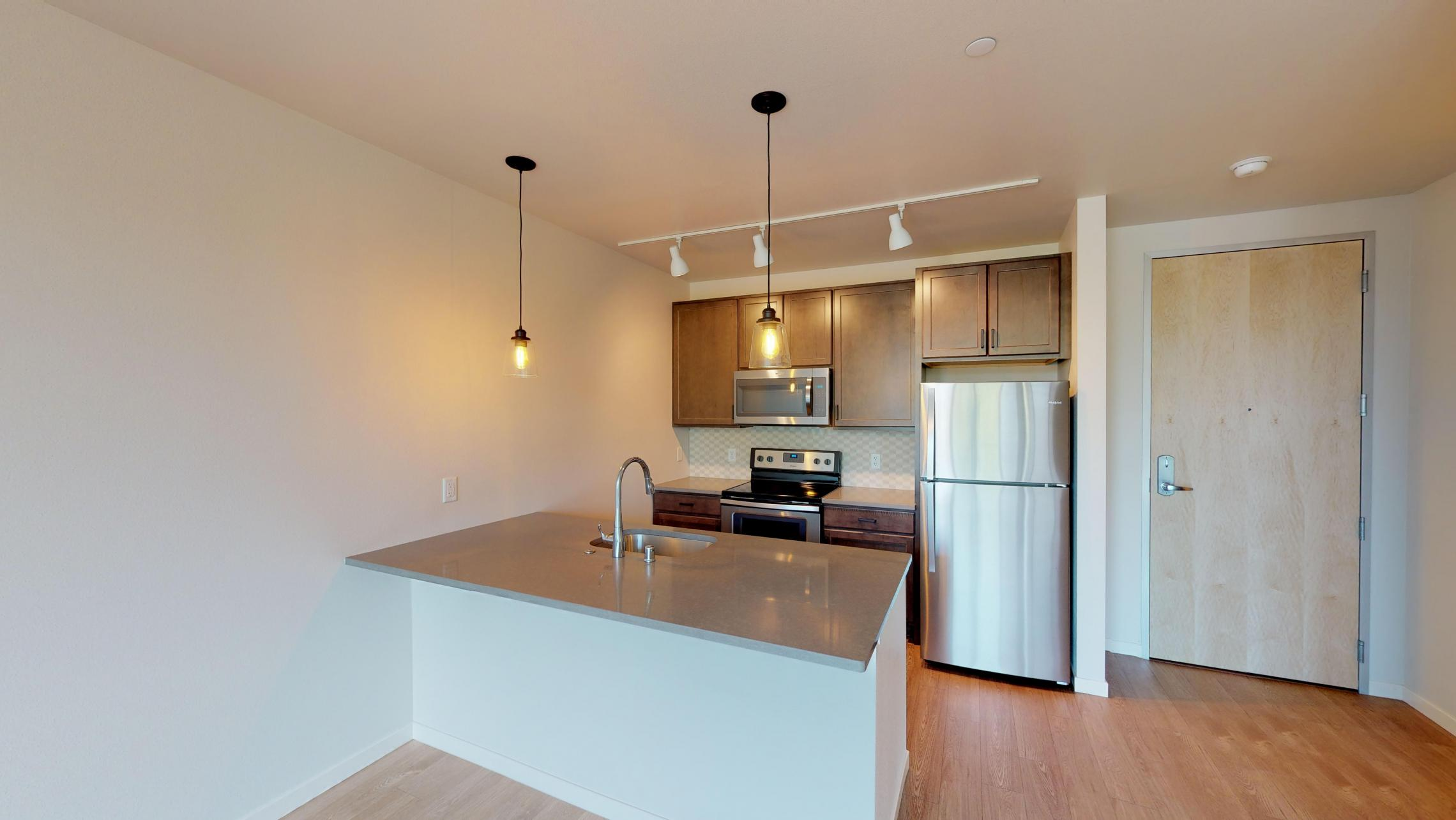 Quarter-Row-Apartments-Downtown-Madison-Monona-Bay-Lake-Capitol-Views-Coffee-Work-Space-Shuffleboard-Games-Modern-Luxury-Design-Apartment-One-Bedroom