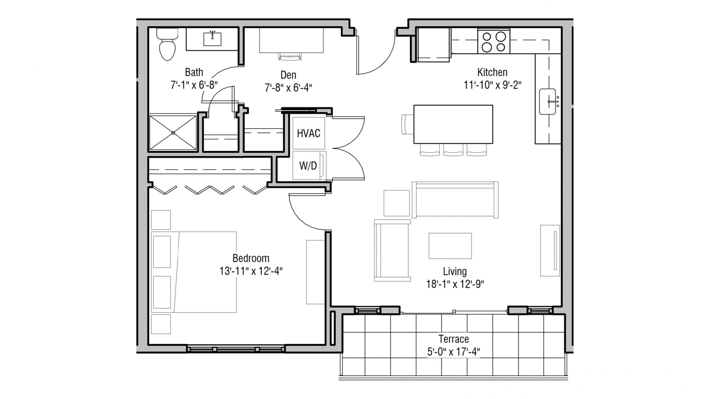 ULI 1722 Monroe 507 - One Bedroom, One Bathroom