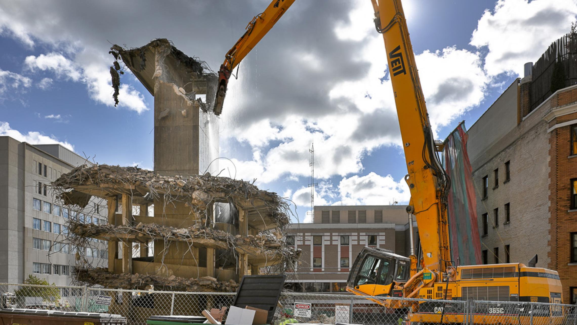 ULI 25 West Main Redevelopment Parking Ramp Demolition