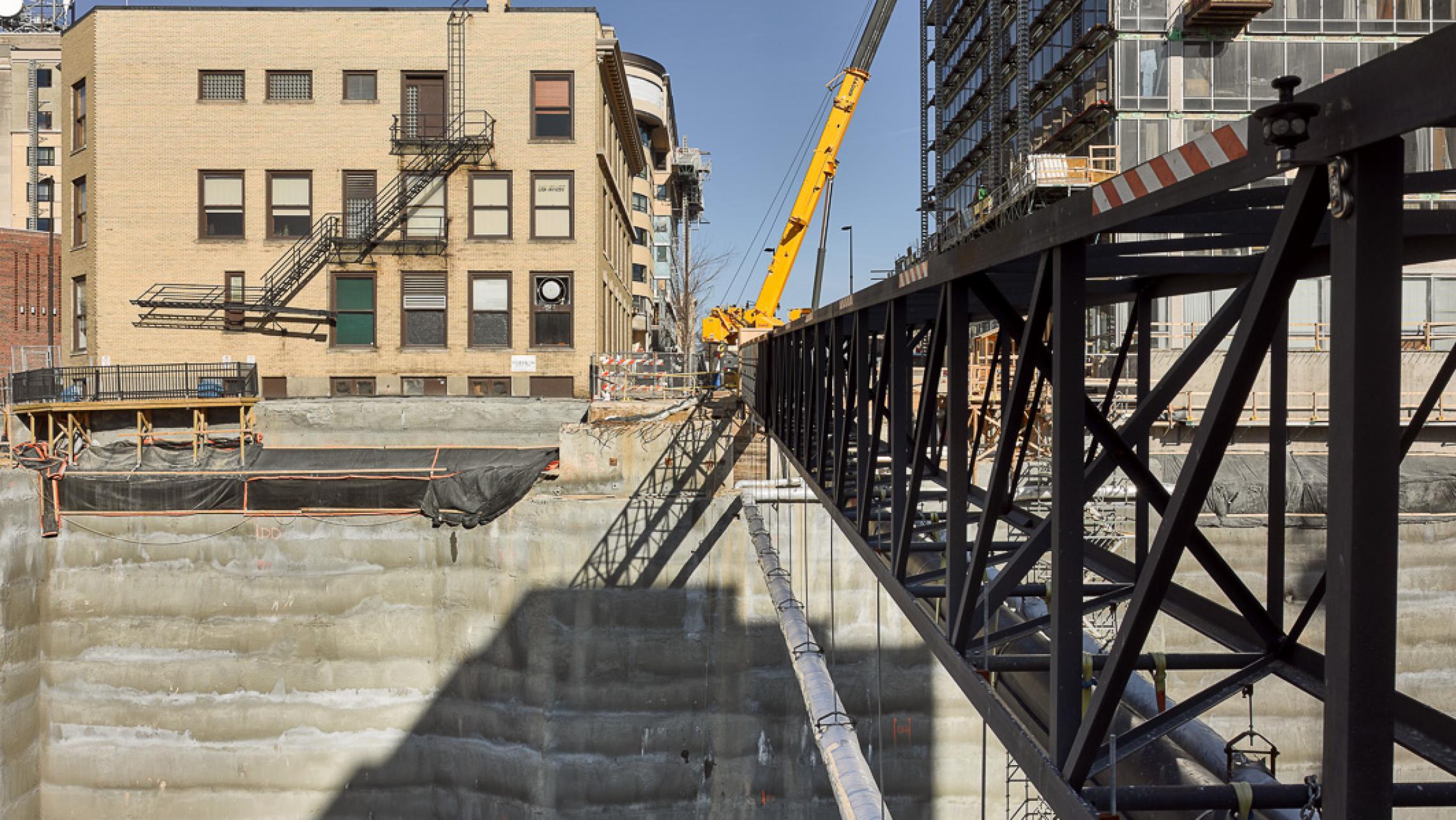 ULI 25 West Main Redevelopment Construction