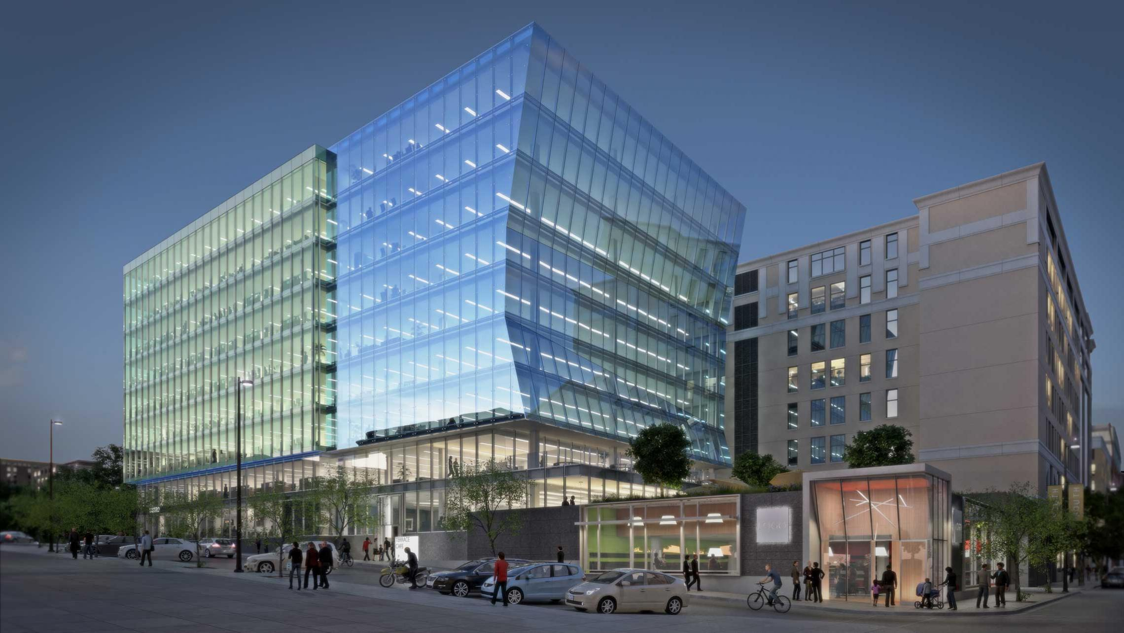 ULI 25 West Main Rendering from Doty Street