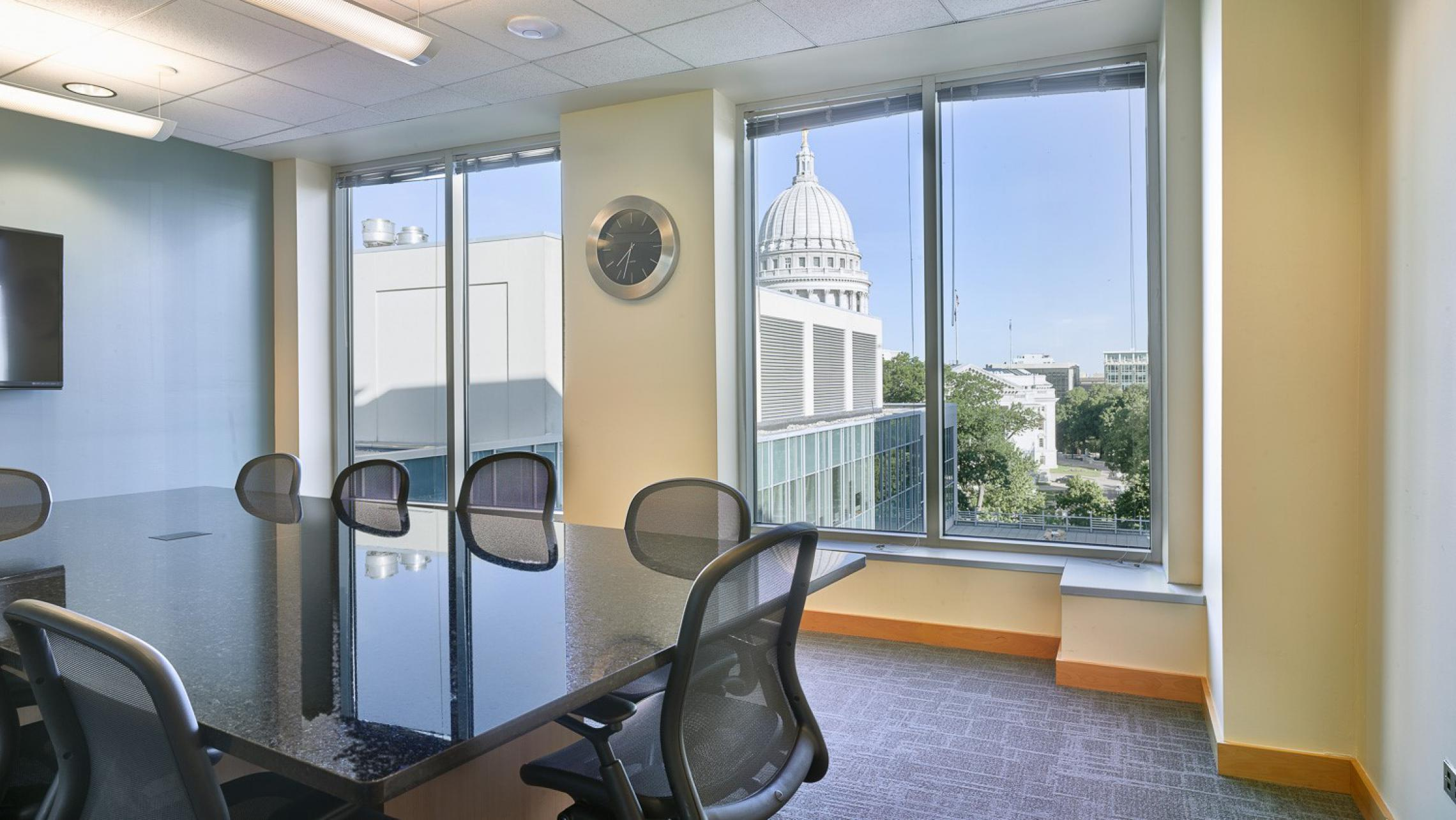 ULI Capitol Executive Suites - Conference Room with Capitol View
