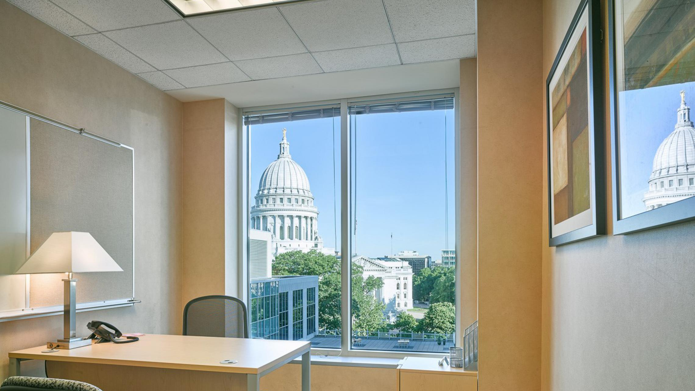 ULI Capitol Executive Suites - Office with a Capitol View