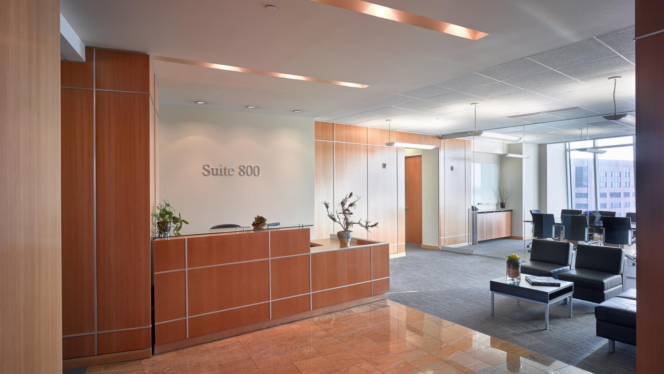 ULI Capitol Executive Suites - Reception Desk
