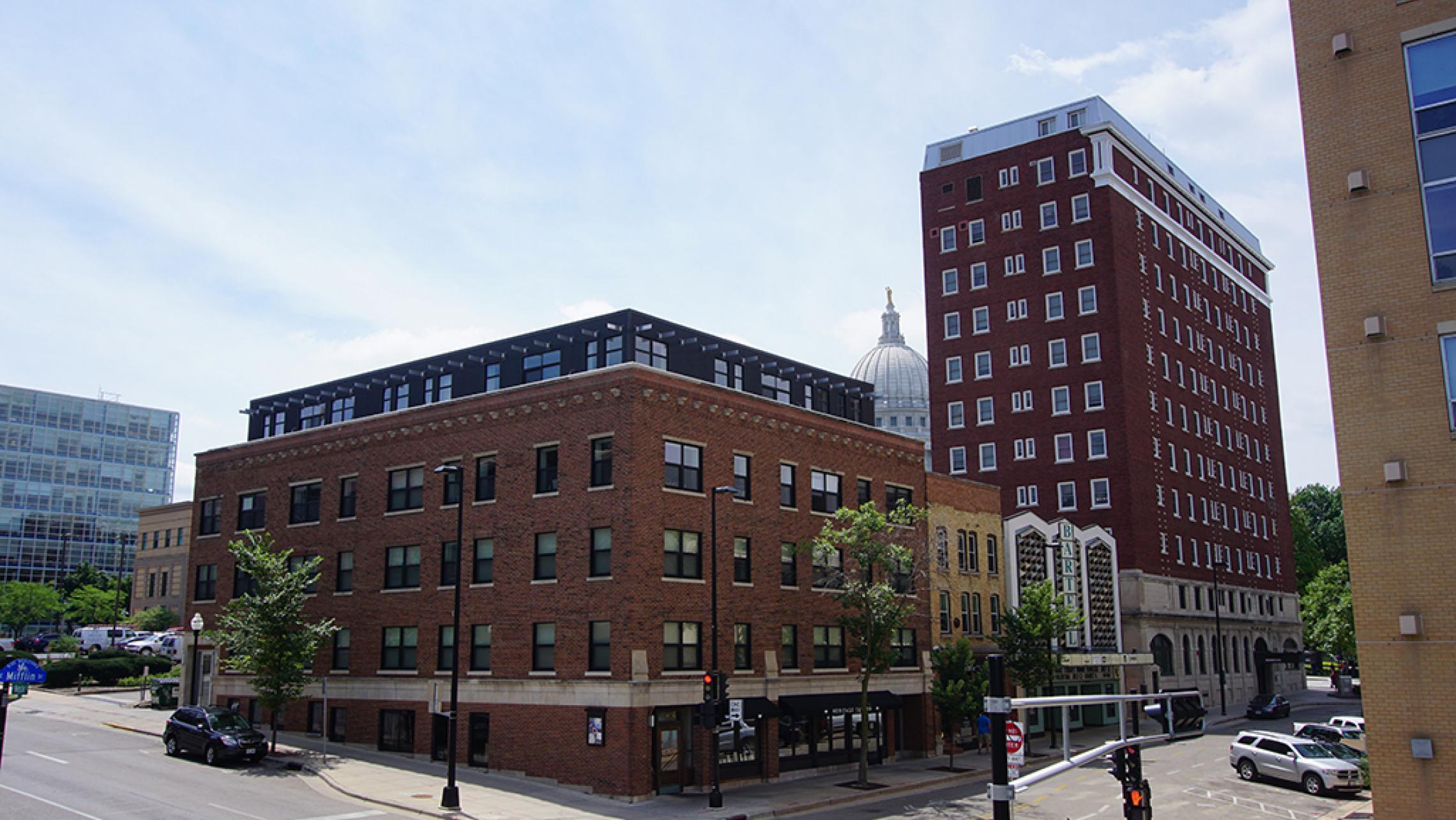 ULI Capitol Hill Apartments Exterior