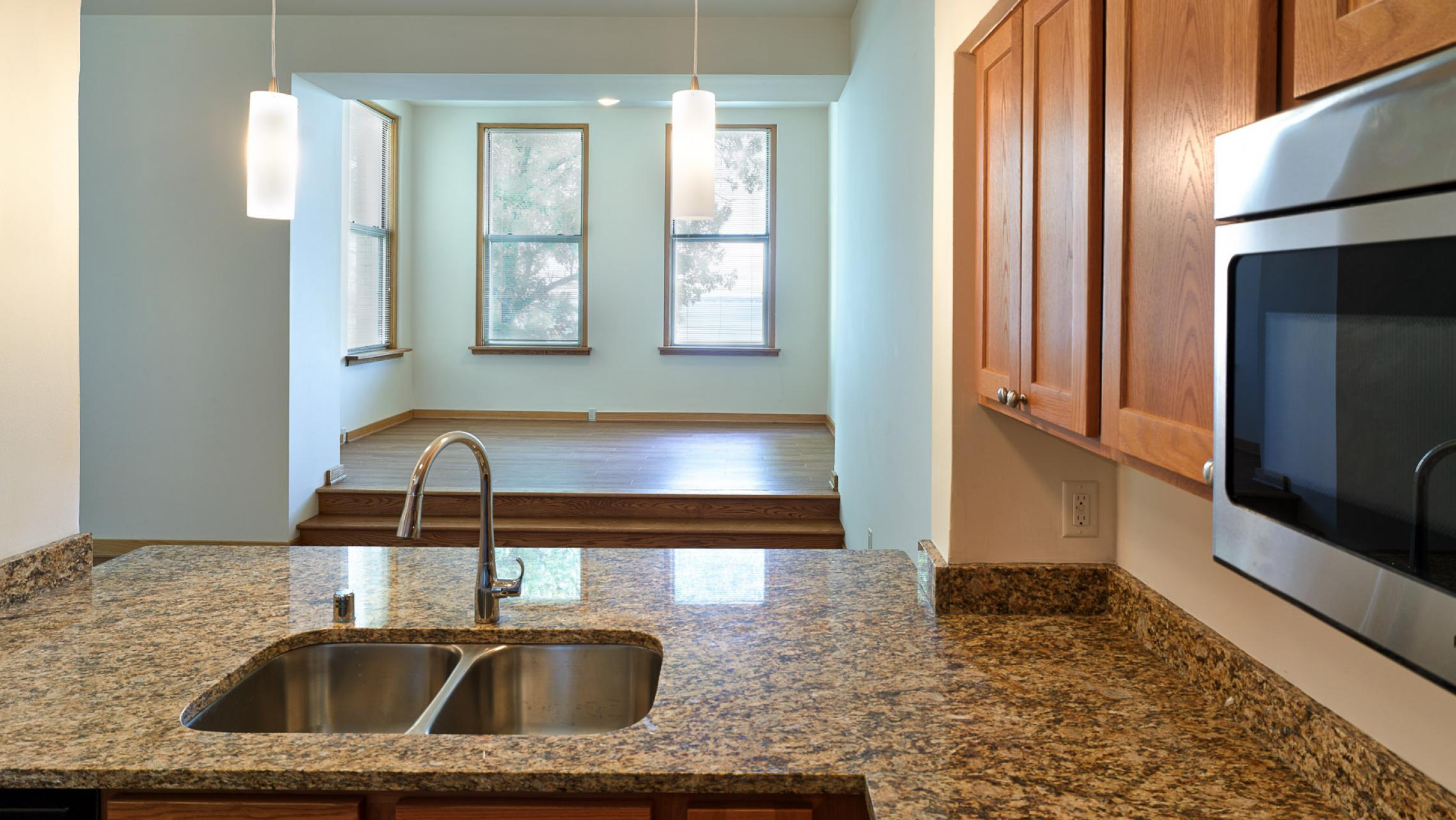 ULI Lincoln School Apartments, Stainless Steel Appliances, Granite Countertops