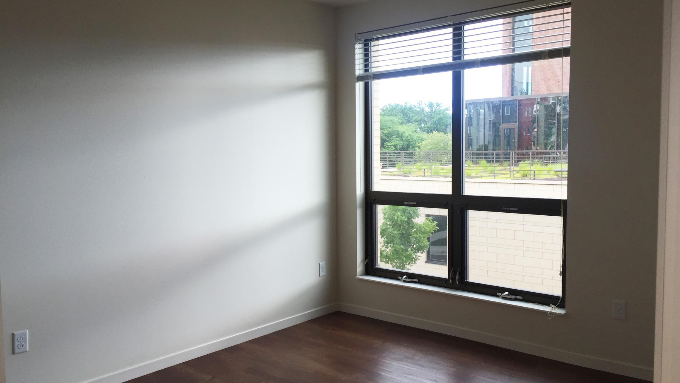 ULI Nine Line Apartment 205 - Bedroom Window