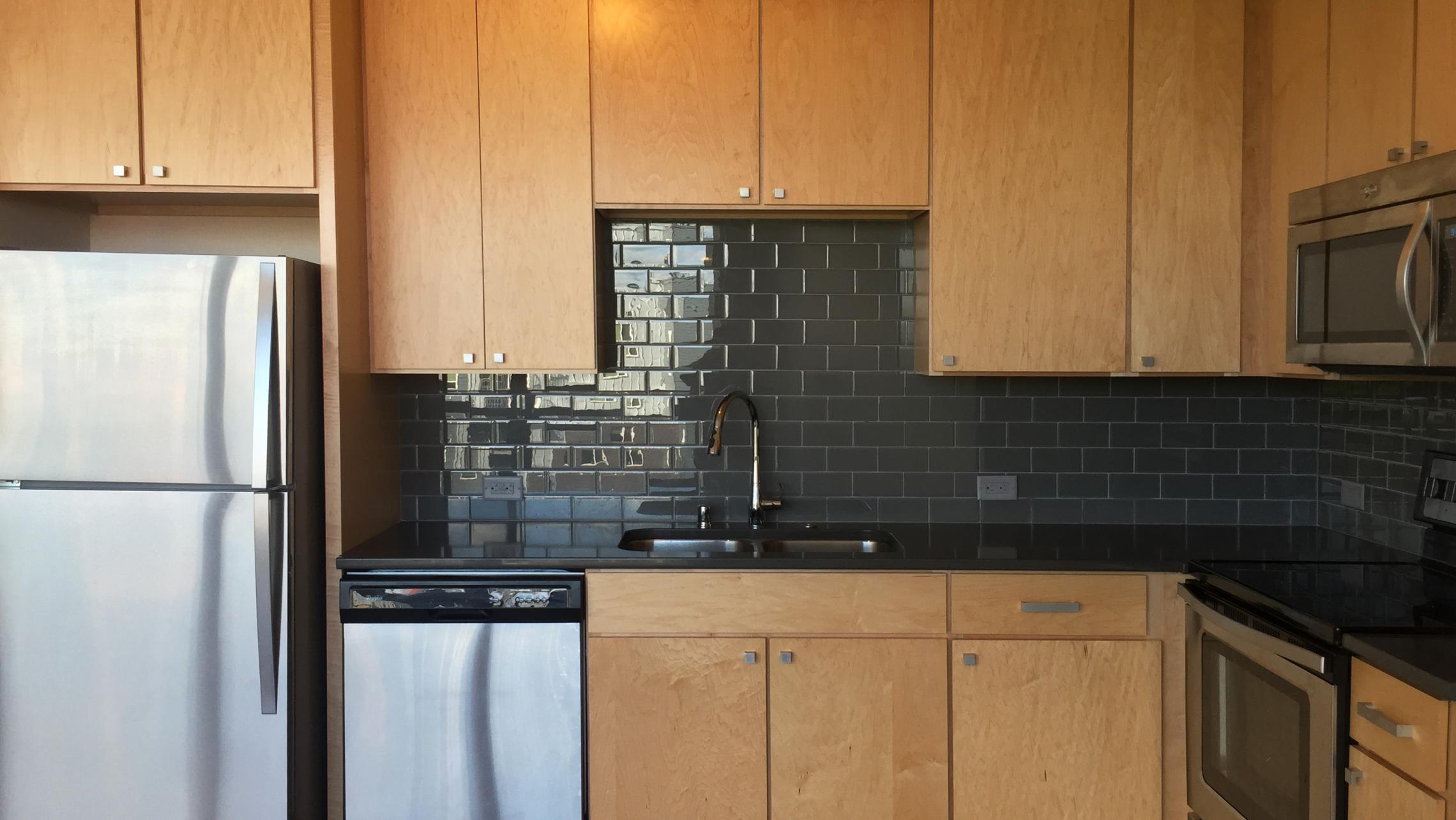 ULI Nine Line Apartment 210 - Kitchen
