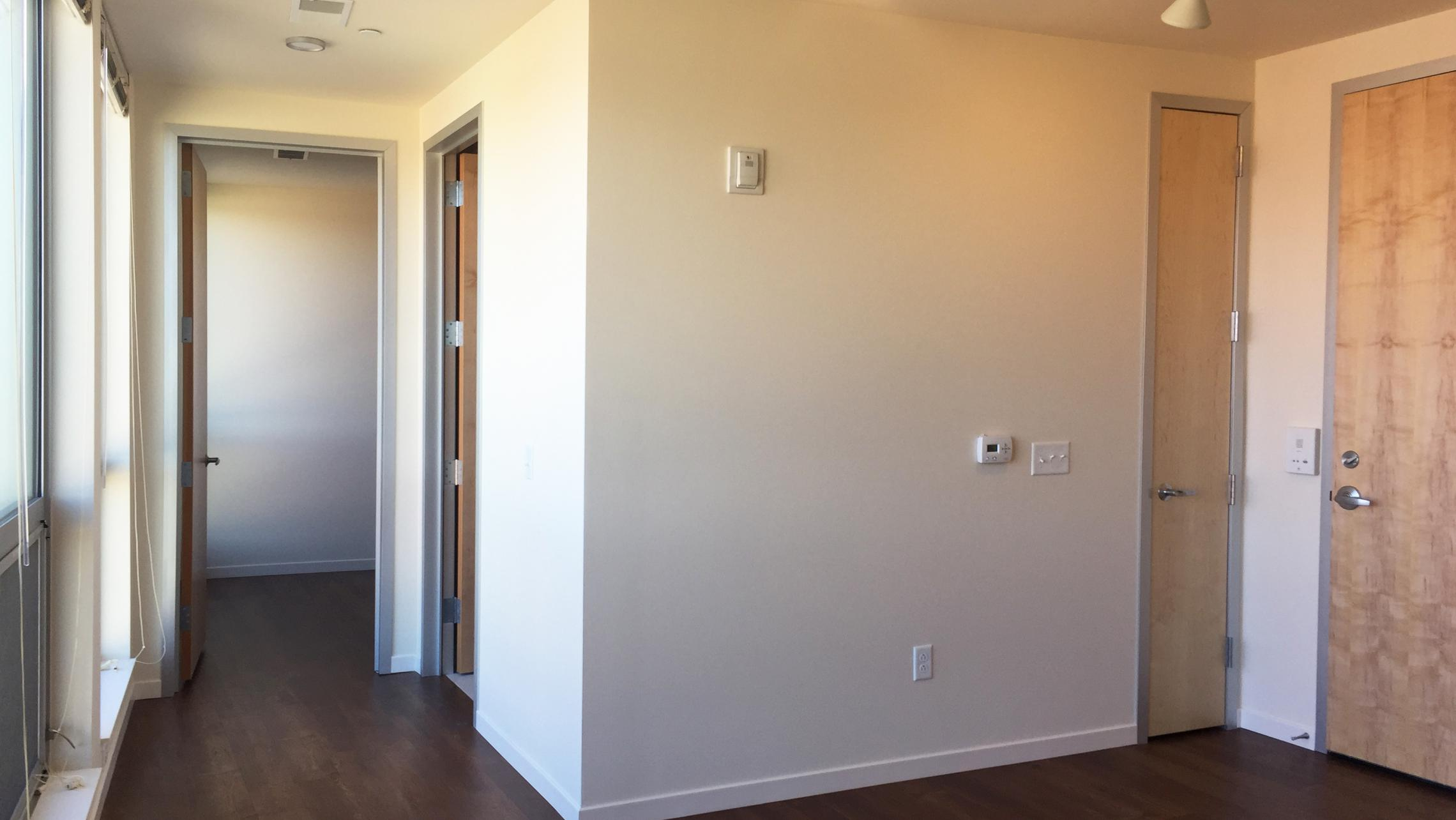 ULI Nine Line Apartment 210 - Living Room