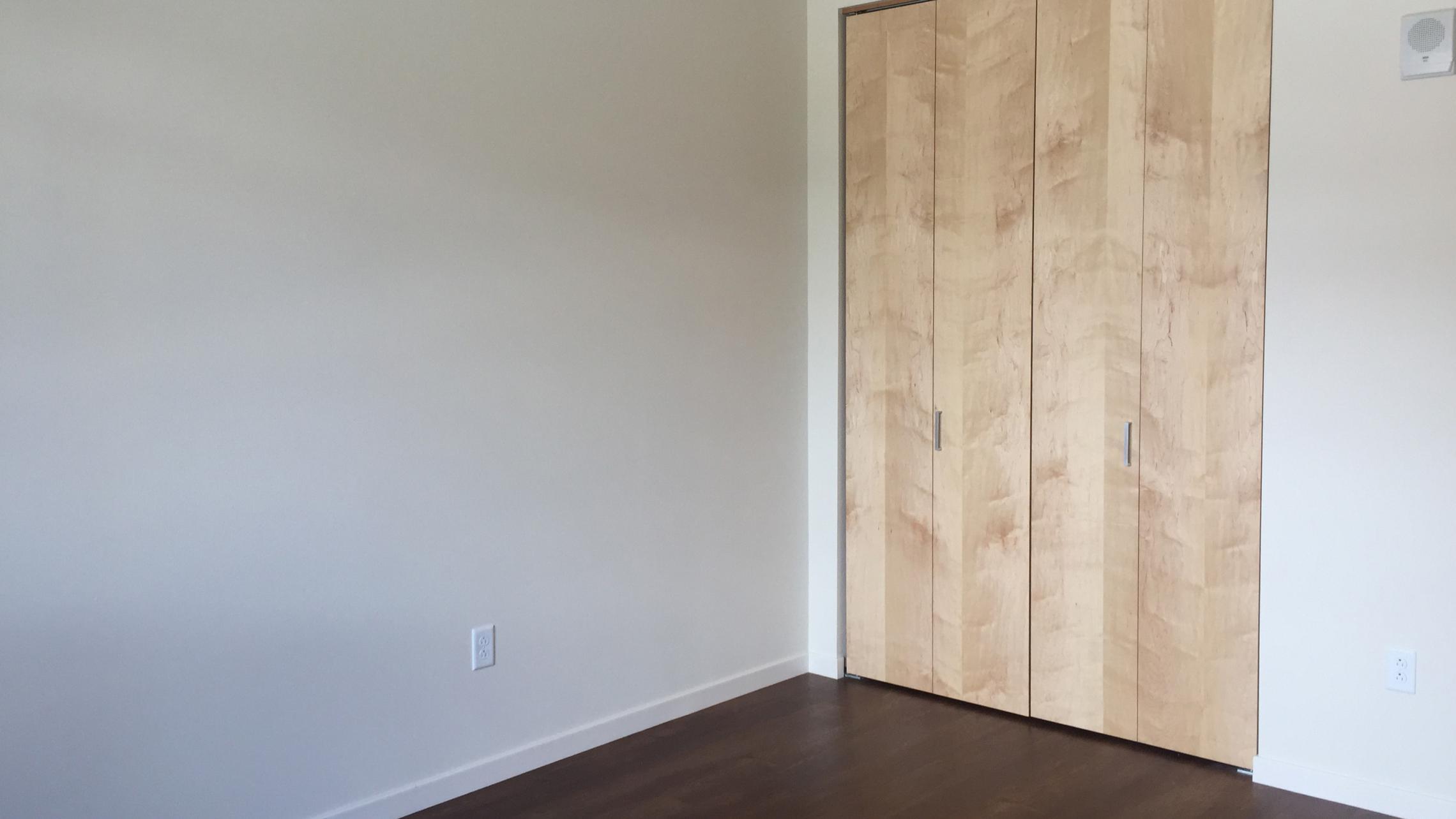 ULI Nine Line Apartment 417 - Bedroom Closet