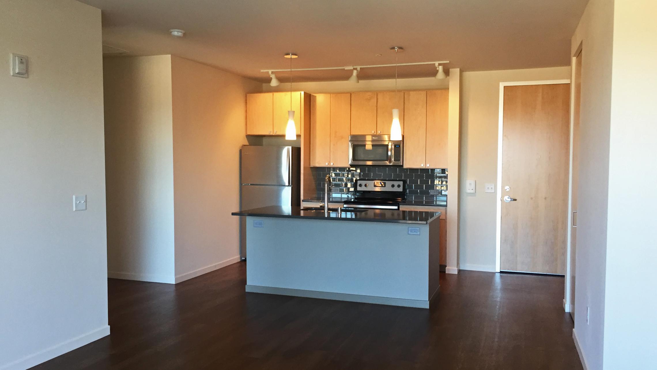 ULI Nine Line Apartment 421 - Living Room