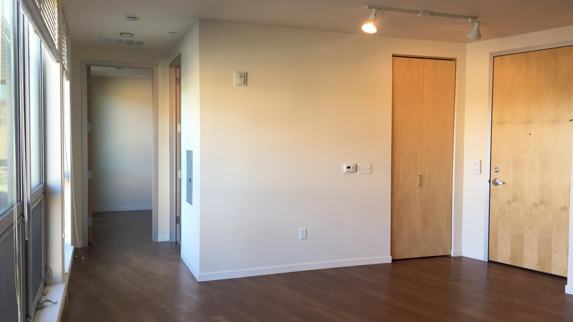 ULI Nine Line Apartment 509 - Living Room