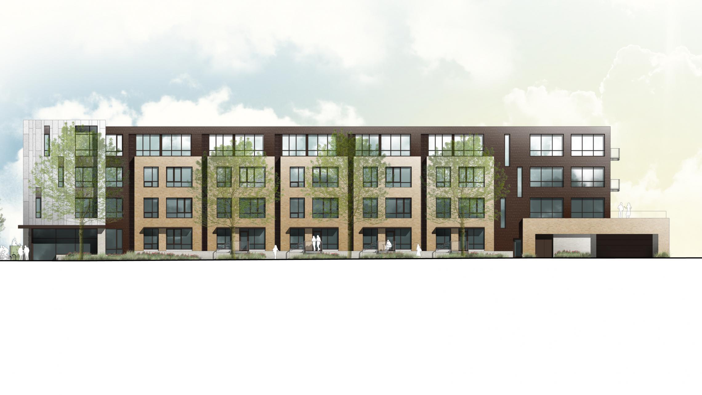 ULI Quarter Row - Doty Street Rendering