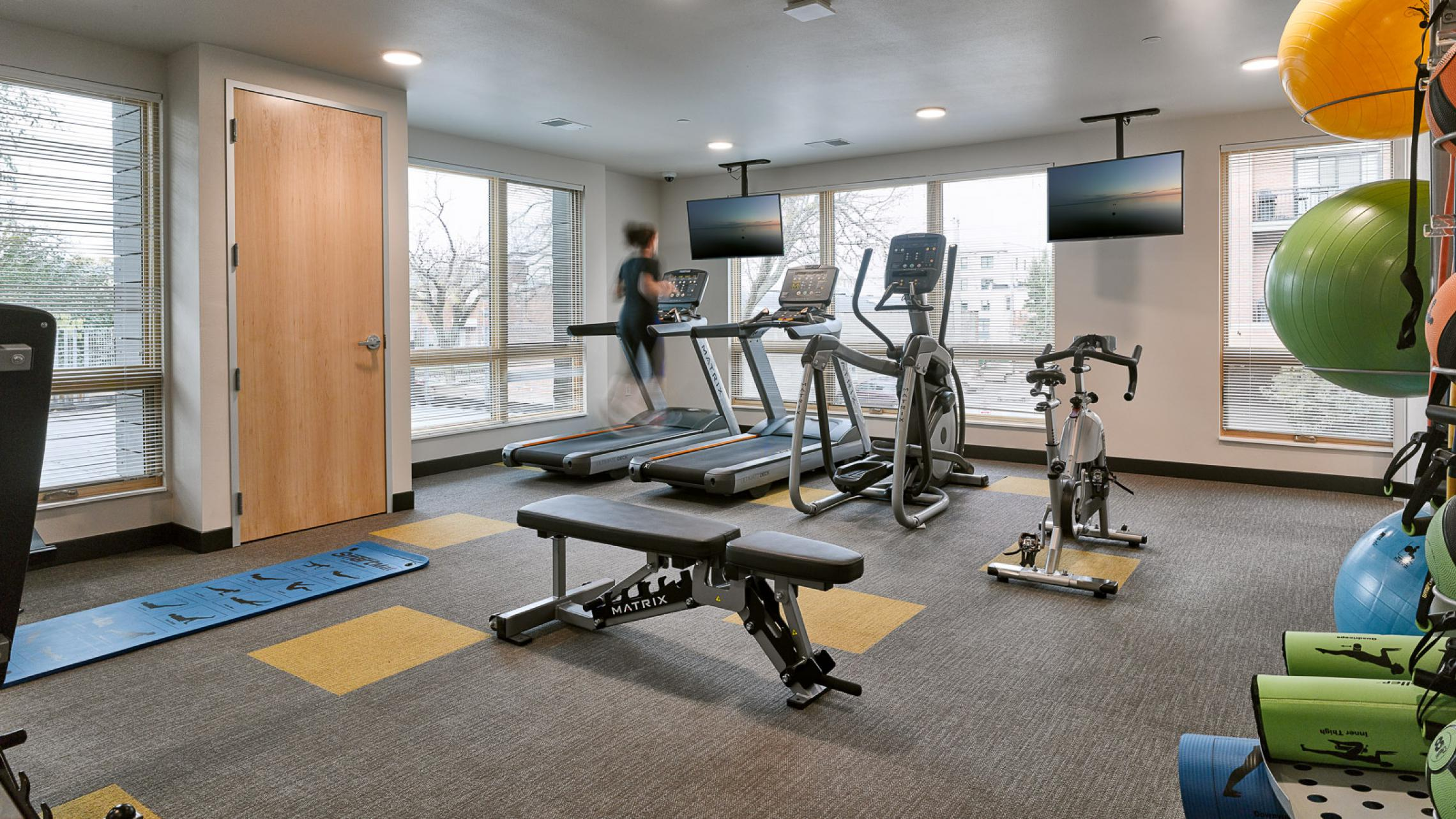 ULI Quarter Row at the Yards - Fitness Center