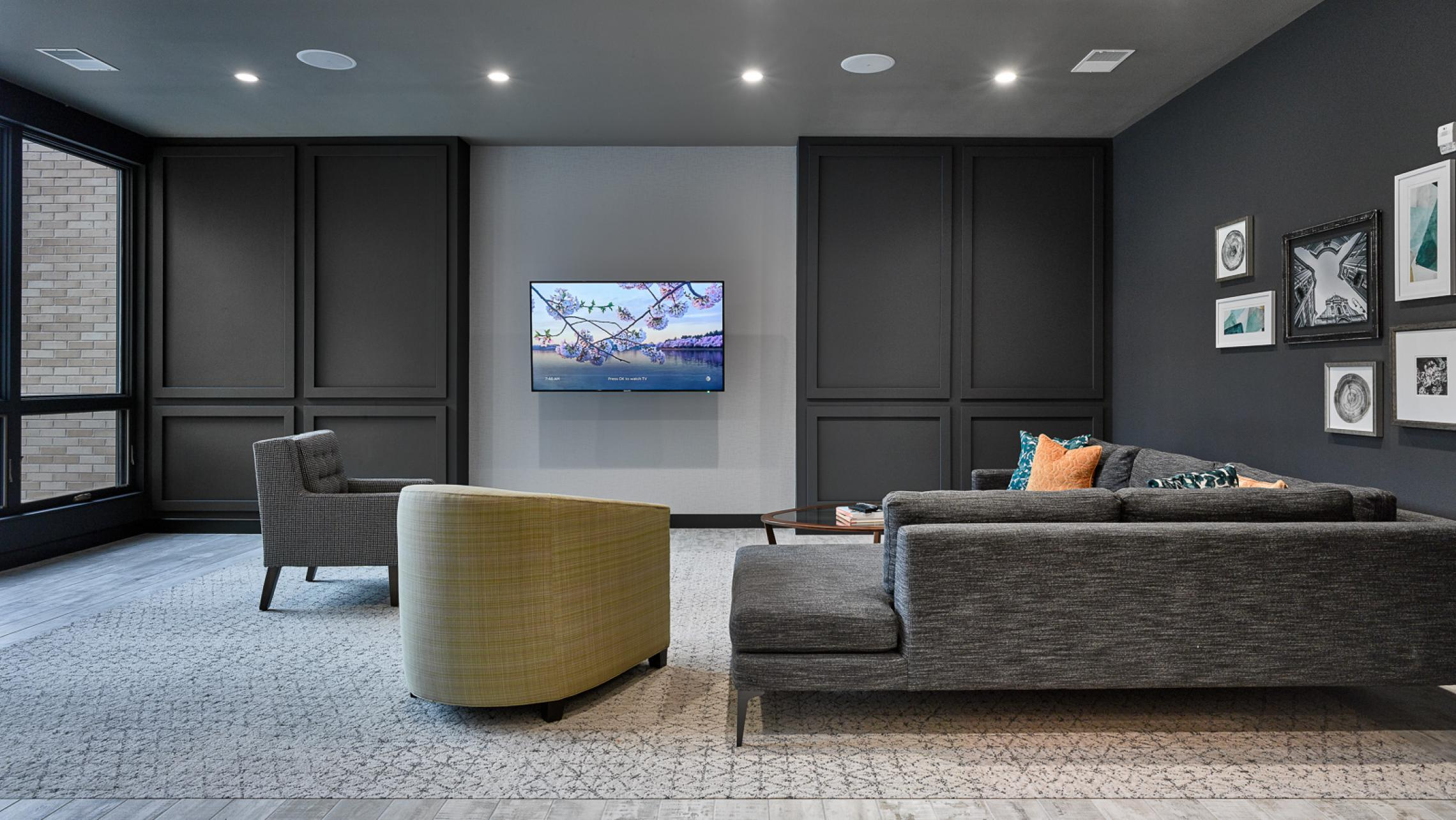 ULI Quarter Row at the Yards - Living Room