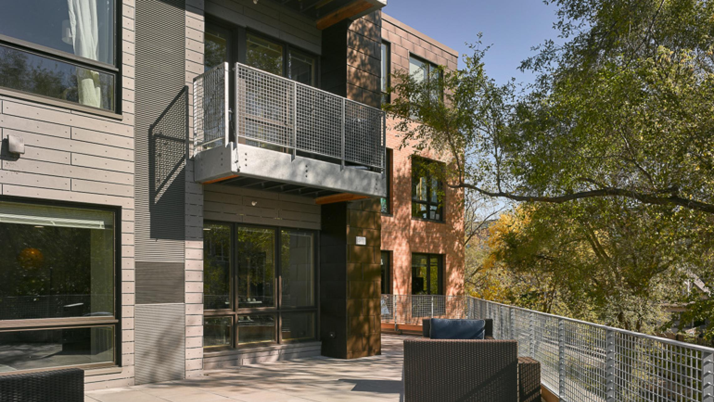 ULI Quarter Row at the Yards - Outdoor Terrace