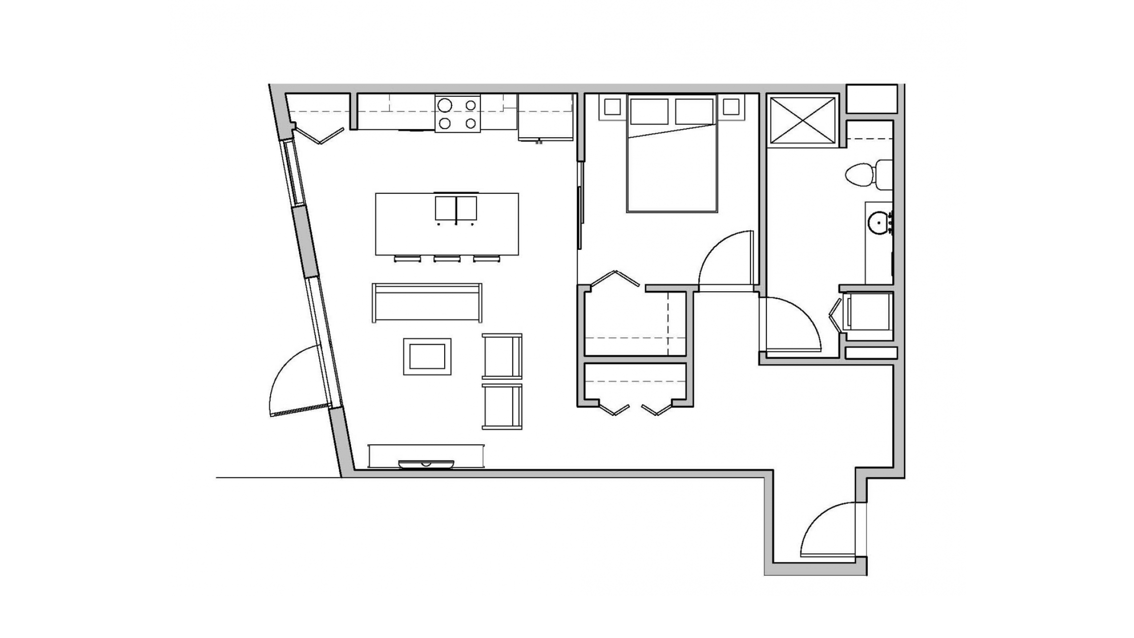 ULI Seven27 104 - One Bedroom, One Bathroom