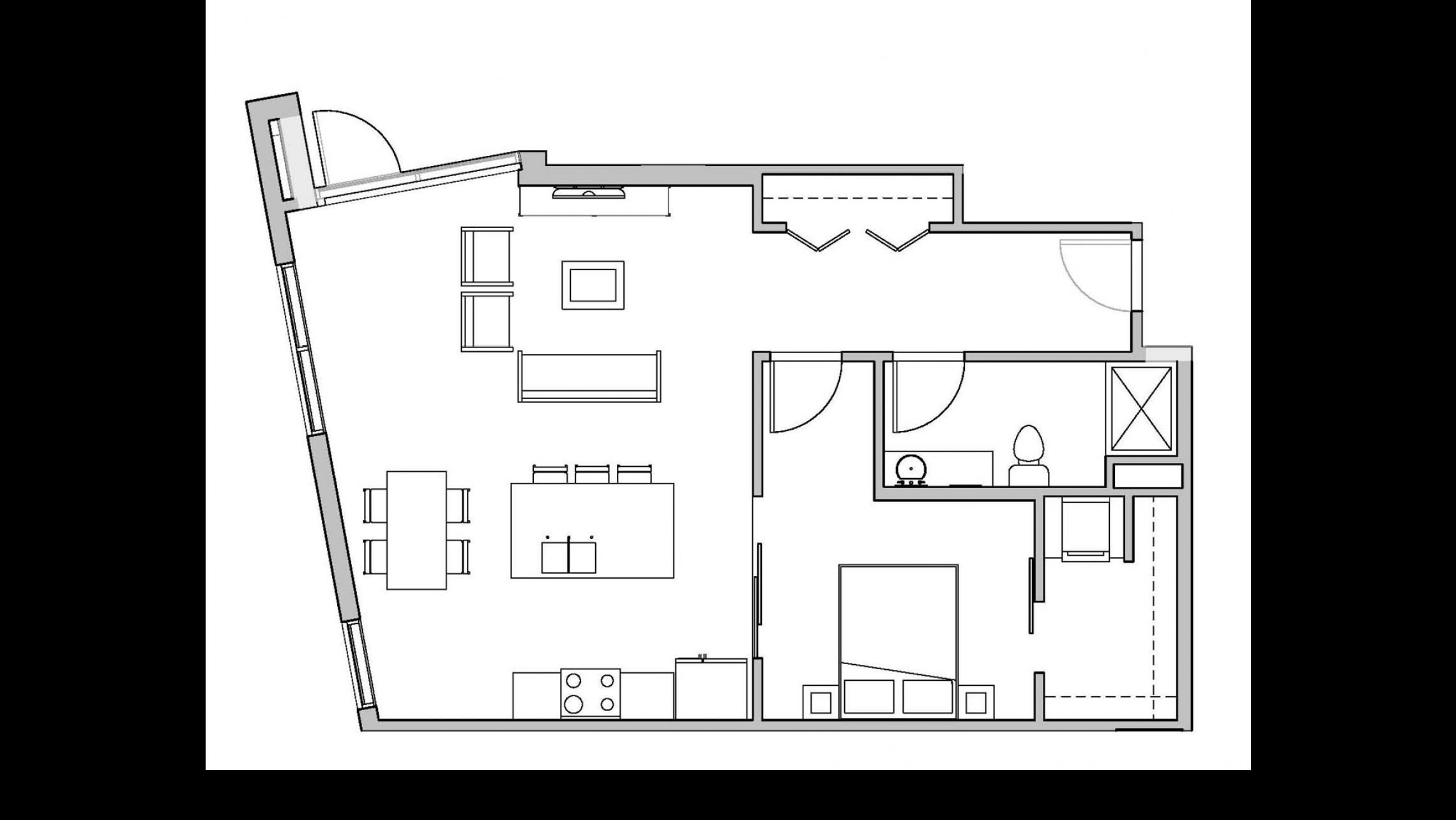 ULI Seven27 106 - One Bedroom, One Bathroom