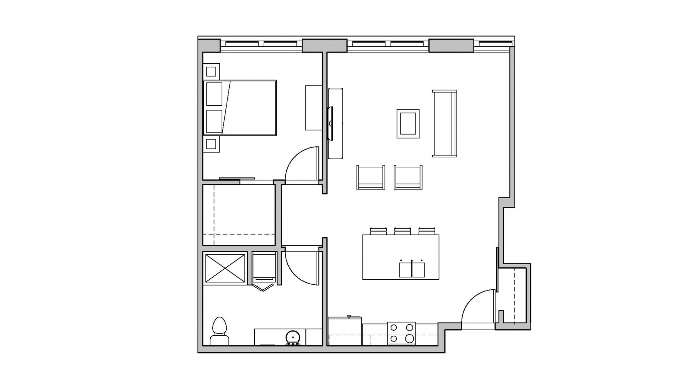 ULI Seven27 114 - One Bedroom, One Bathroom
