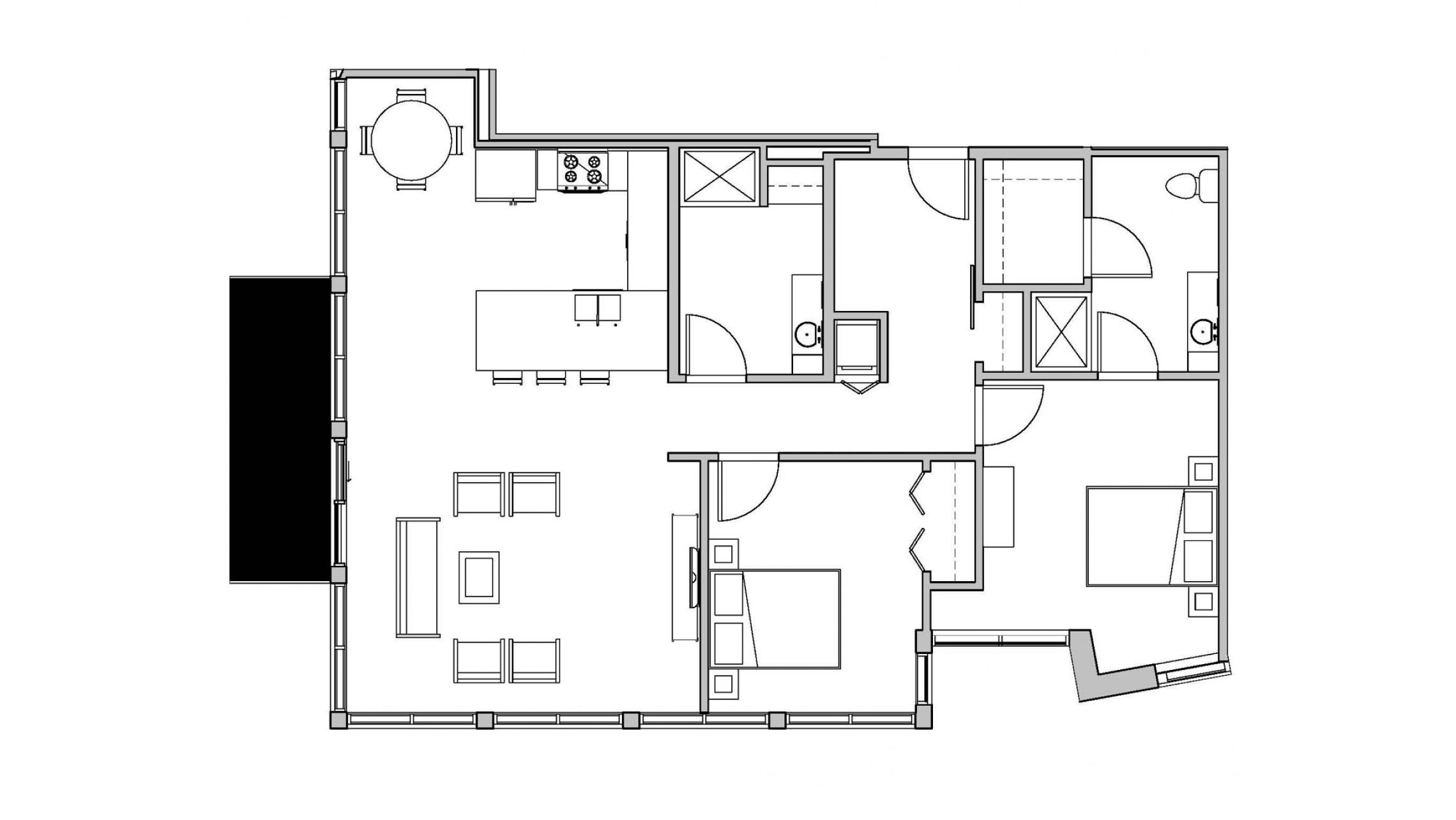 ULI Seven27 201 - Two Bedroom, Two Bathroom