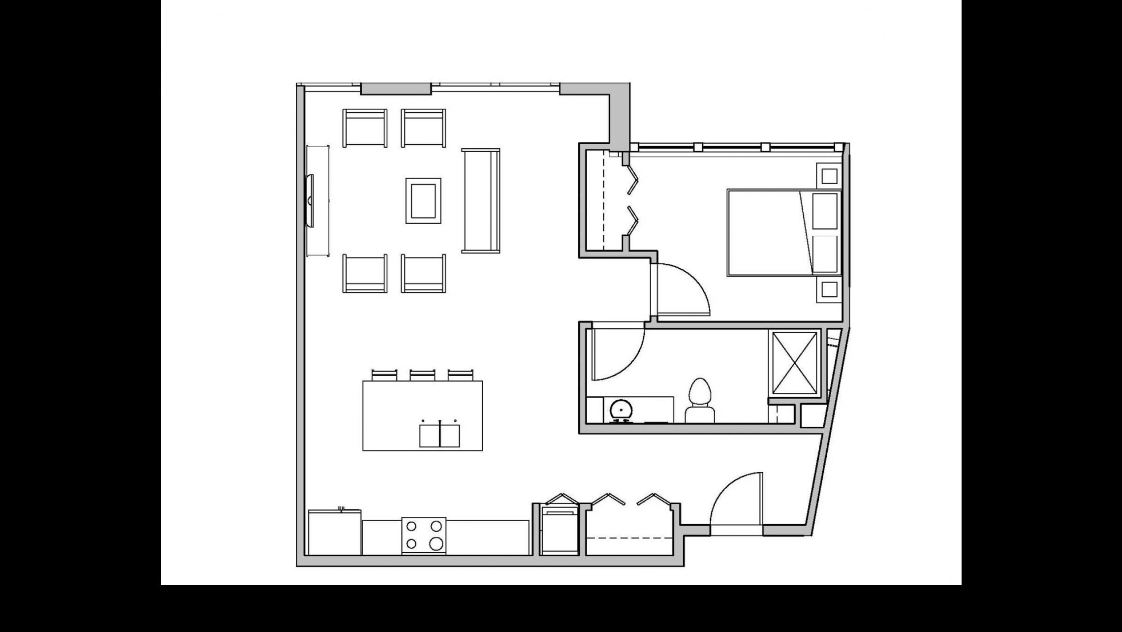 ULI Seven27 218 - One Bedroom, One Bathroom