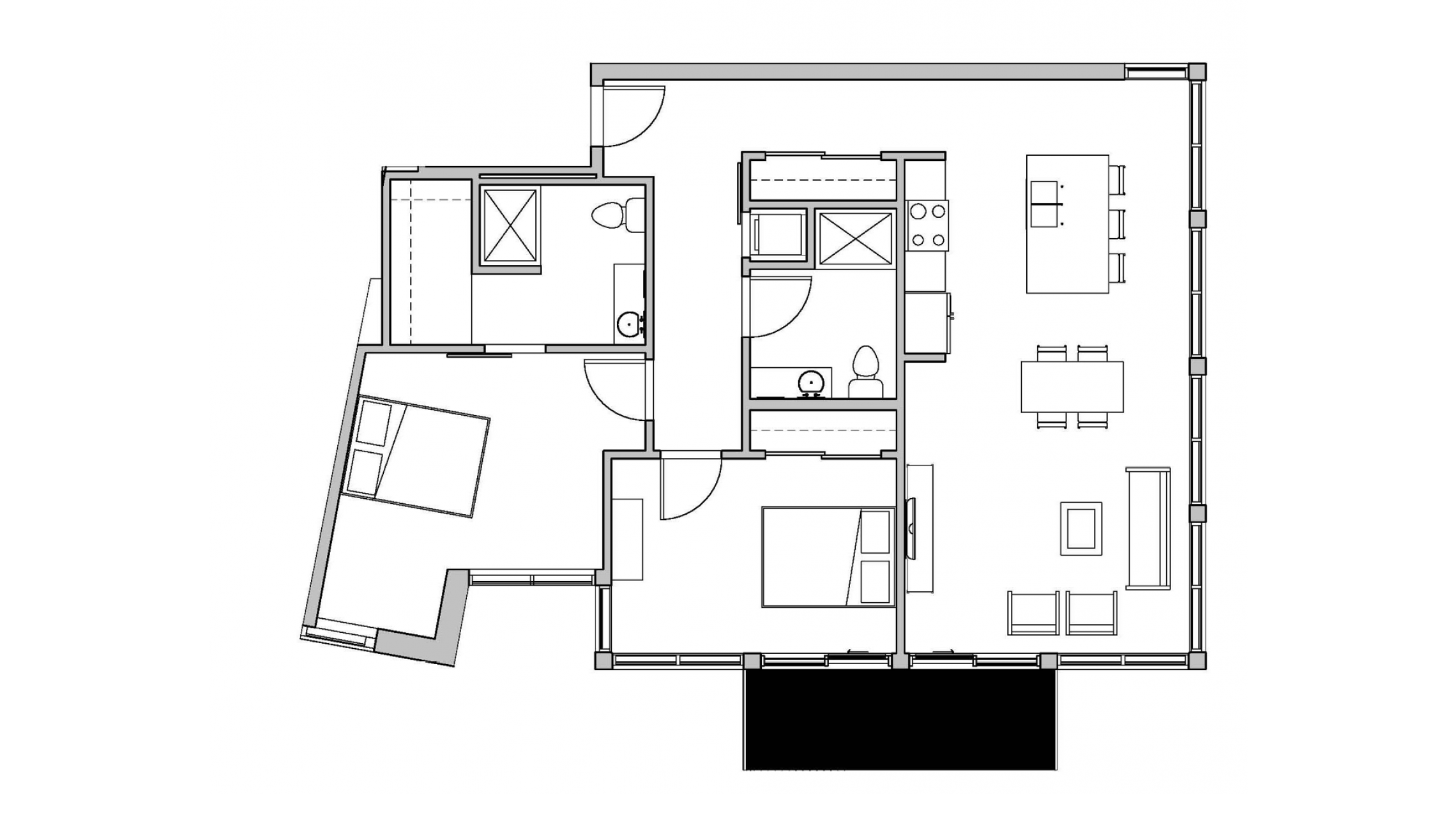 ULI Seven27 224 - Two Bedroom, Two Bathroom