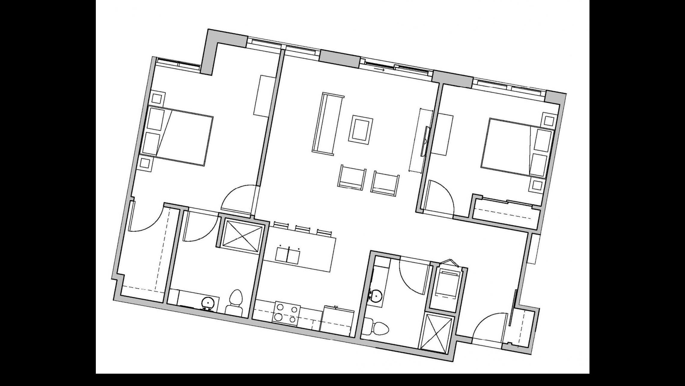 ULI Seven27 237 - Two Bedroom, Two Bathroom