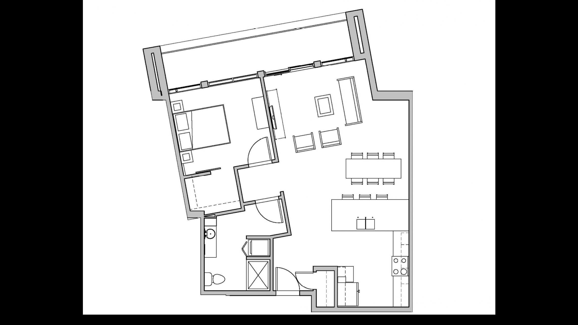 ULI Seven27 312 - One Bedroom, One Bathroom