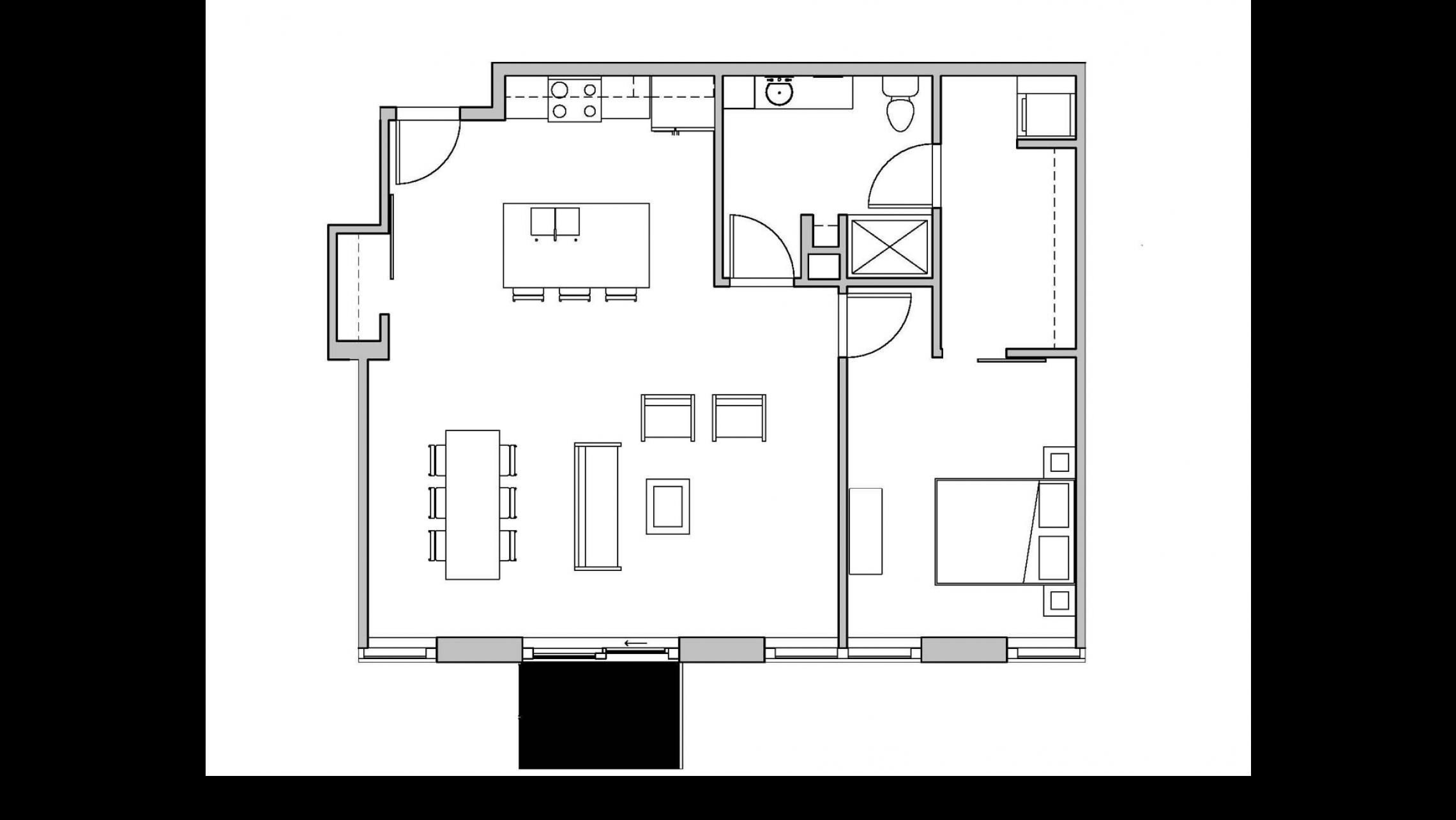 ULI Seven27 315 - One Bedroom, One Bathroom