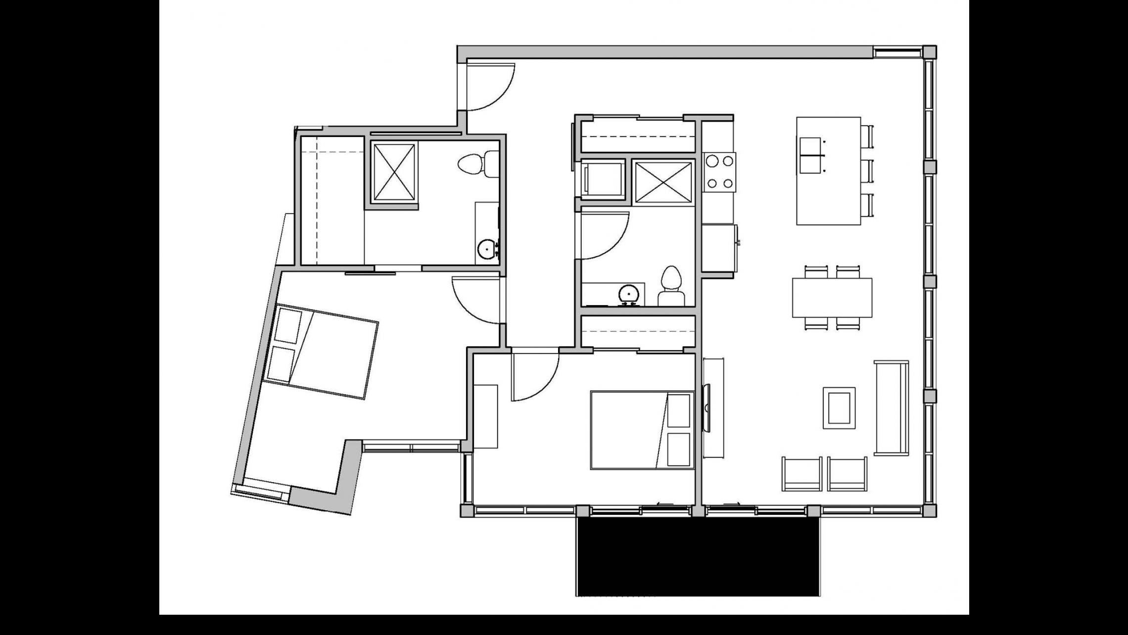 ULI Seven27 324 - Two Bedroom, Two Bathroom