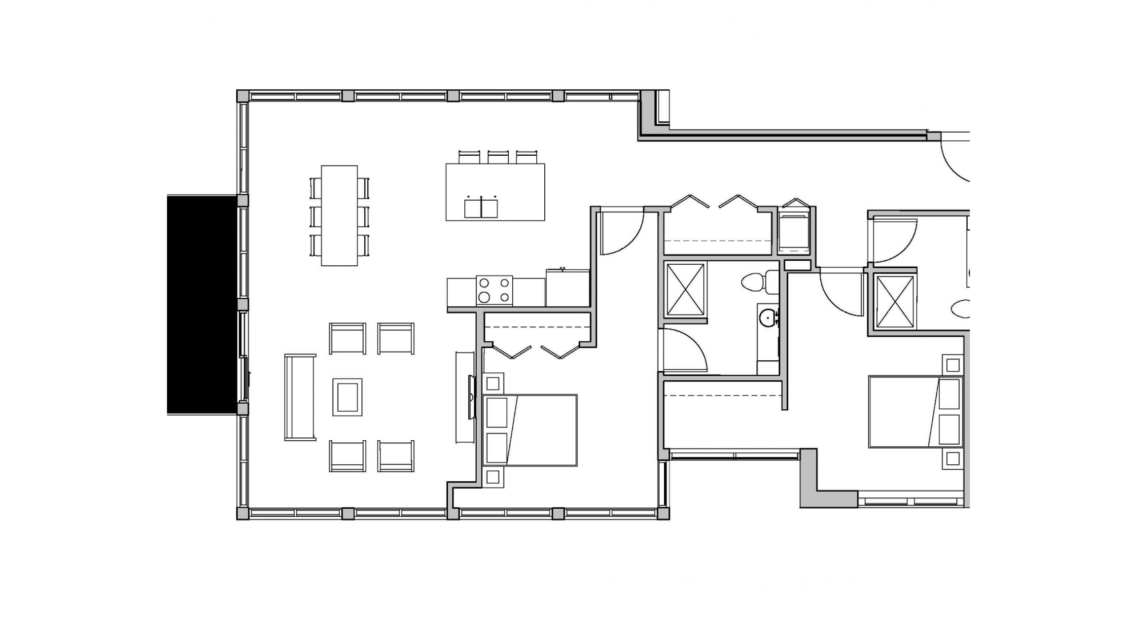 ULI Seven27 340 - Two Bedroom, Two Bathroom