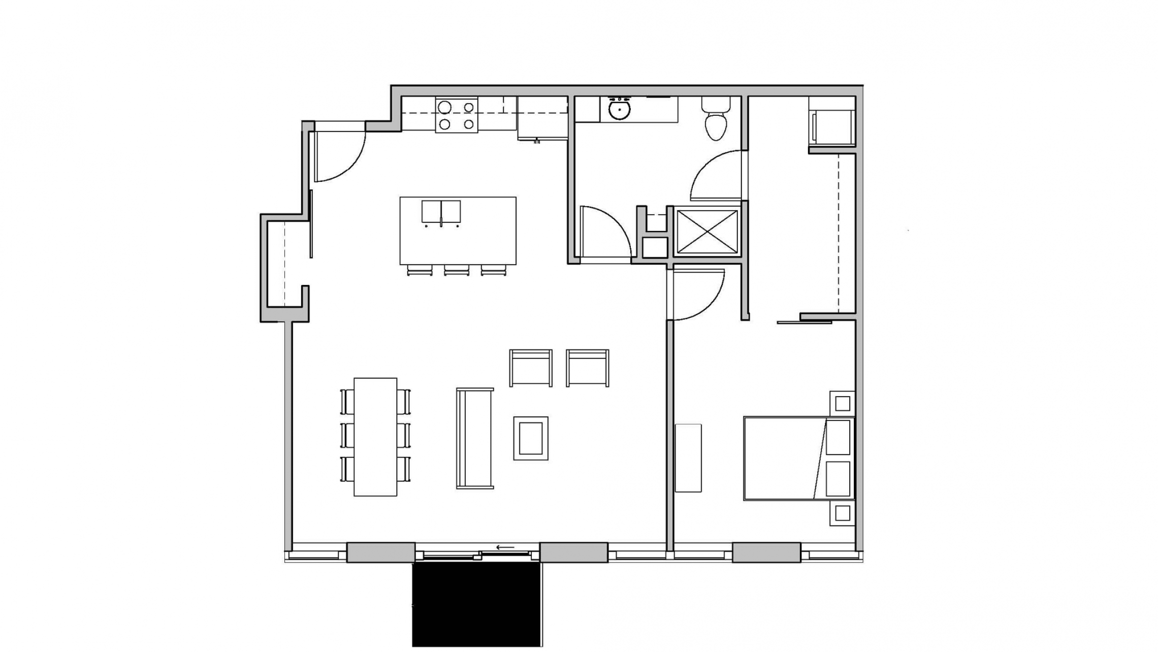 ULI Seven27 415 - One Bedroom, One Bathroom