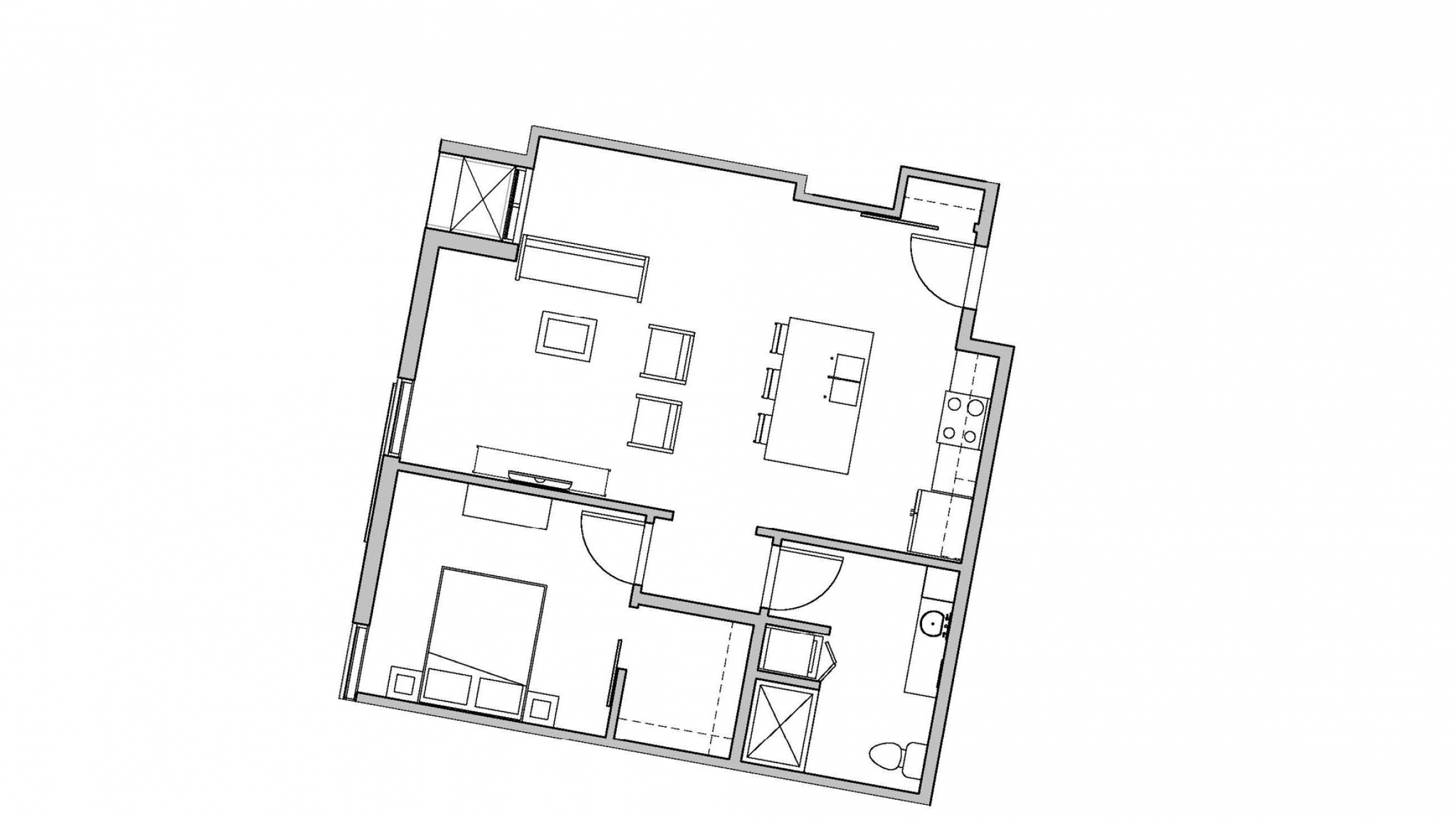ULI Seven27 437 - One Bedroom, One Bathroom