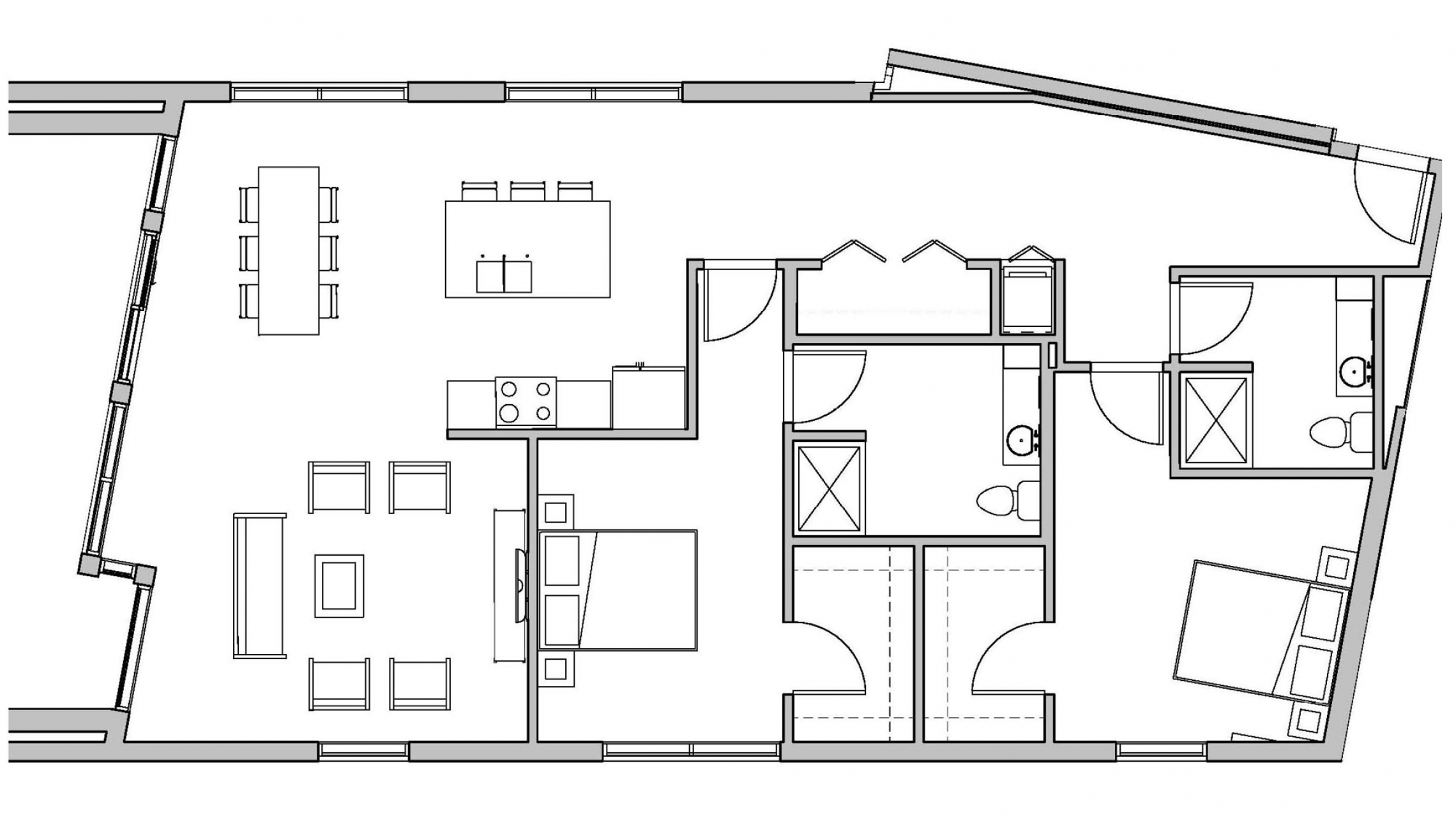 ULI Seven27 440 - Two Bedroom, Two Bathroom