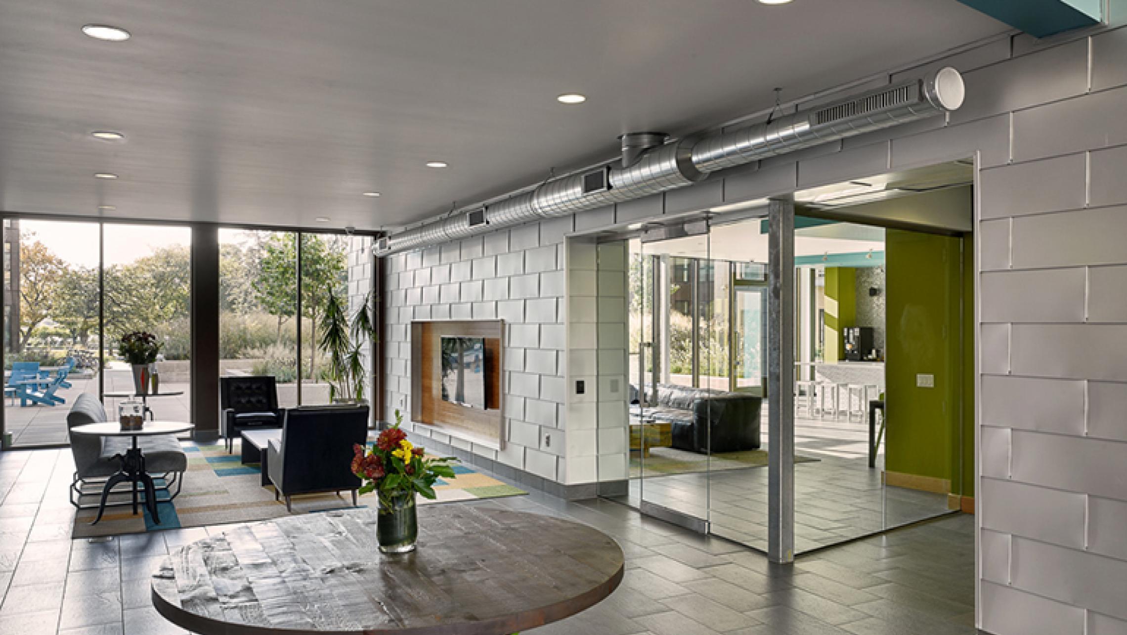 ULI Seven27 Lobby Modern Design